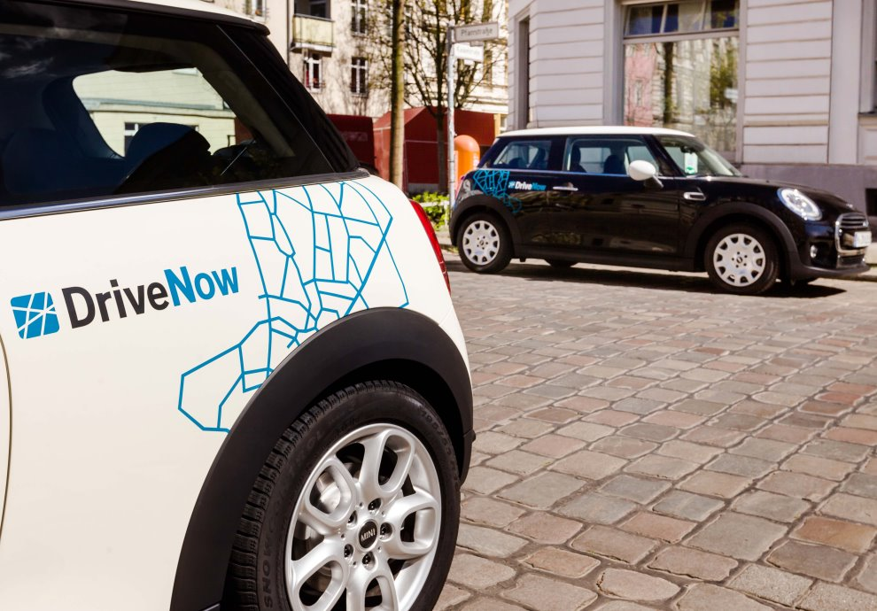 DriveNow, the car-sharing company owned by BMW, is one service that could end up using RideCell's mobility platform.