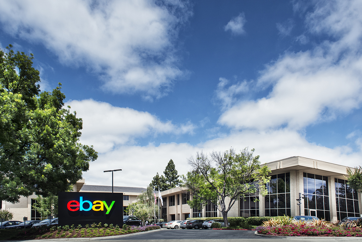 Online marketplace eBay's new campus.