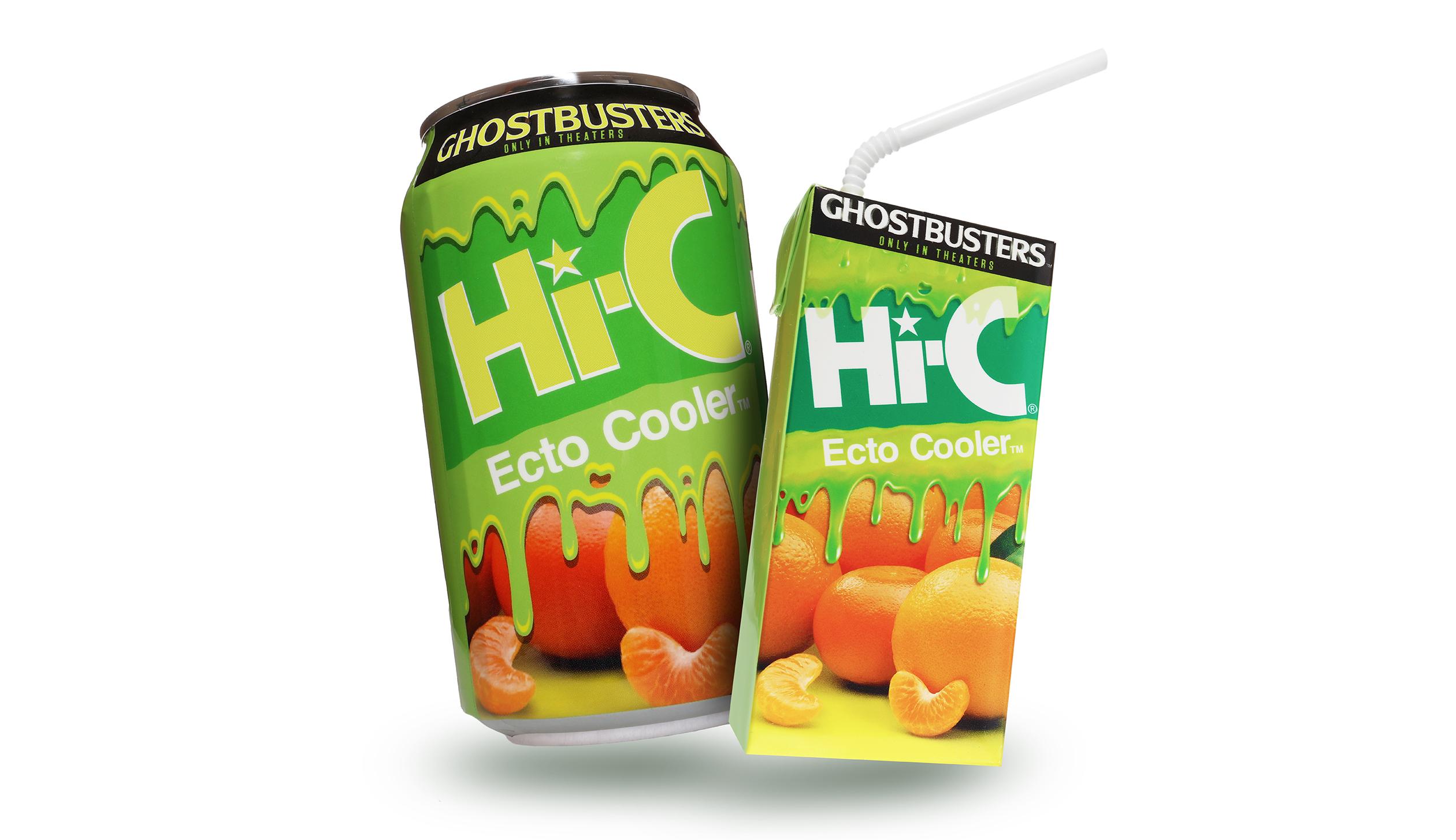Coca-Cola's Hi-C Ecto Cooler is making a comeback.