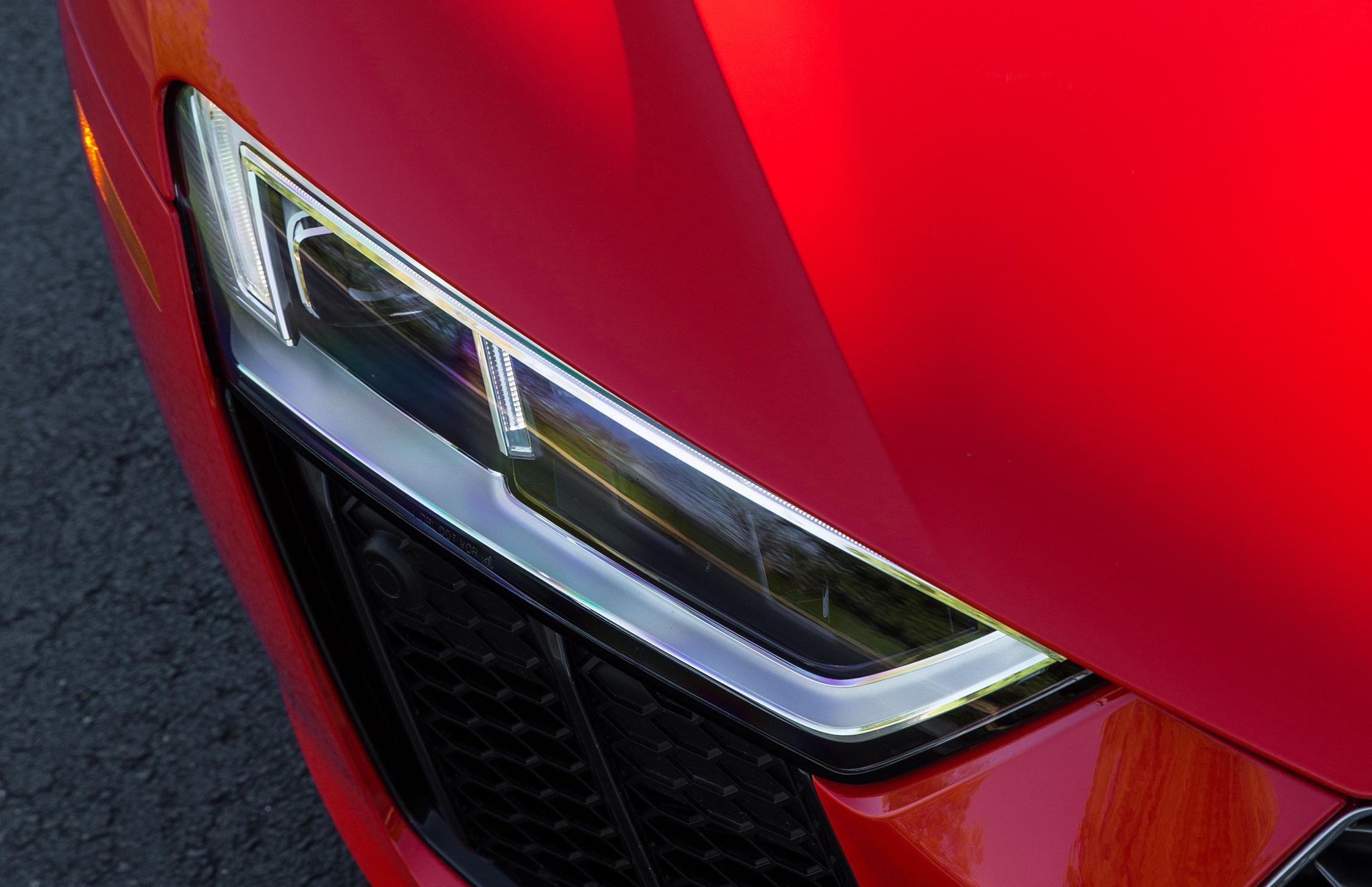 The 2017 Audi R8 V10.