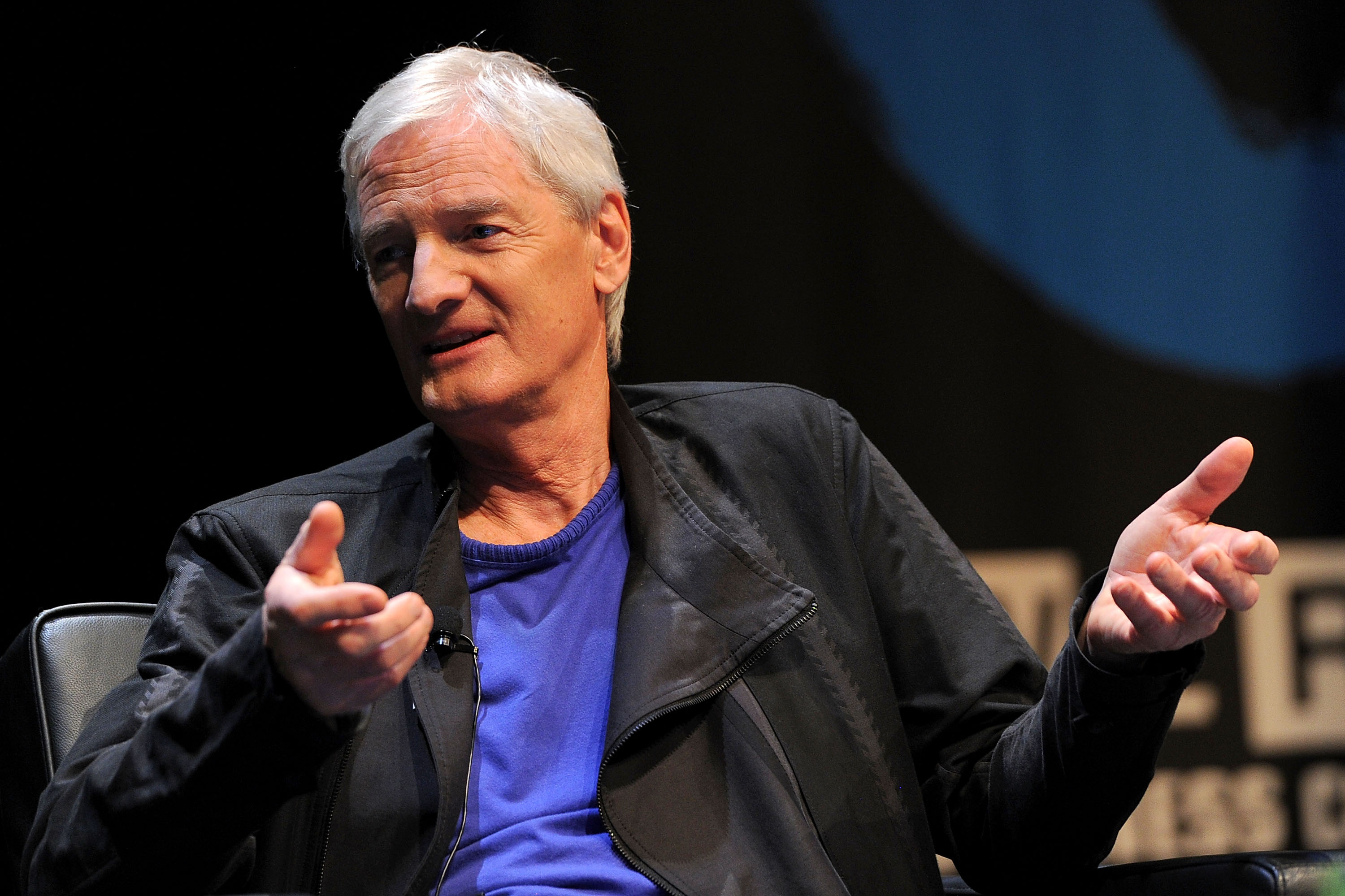 Inventor James Dyson Is a Master at Making Boring Products Cool ...
