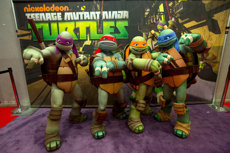 Nickelodeon's Teenage Mutant Ninja Turtles Emerge At NY Comic Con 2012