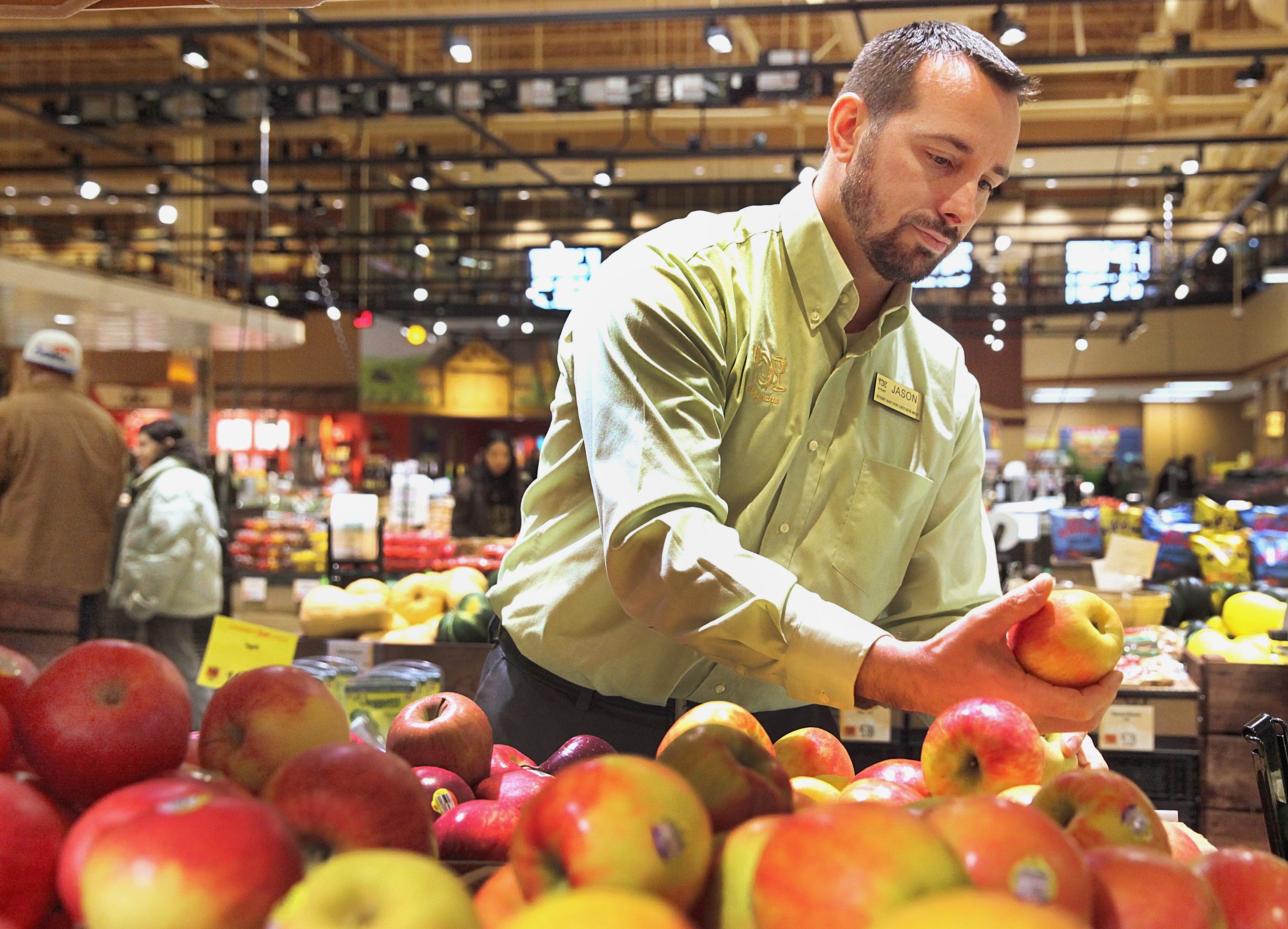 Wegmans topped Publix Super Markets and Trader Joe's to win a survey that judged America's grocery retailers.