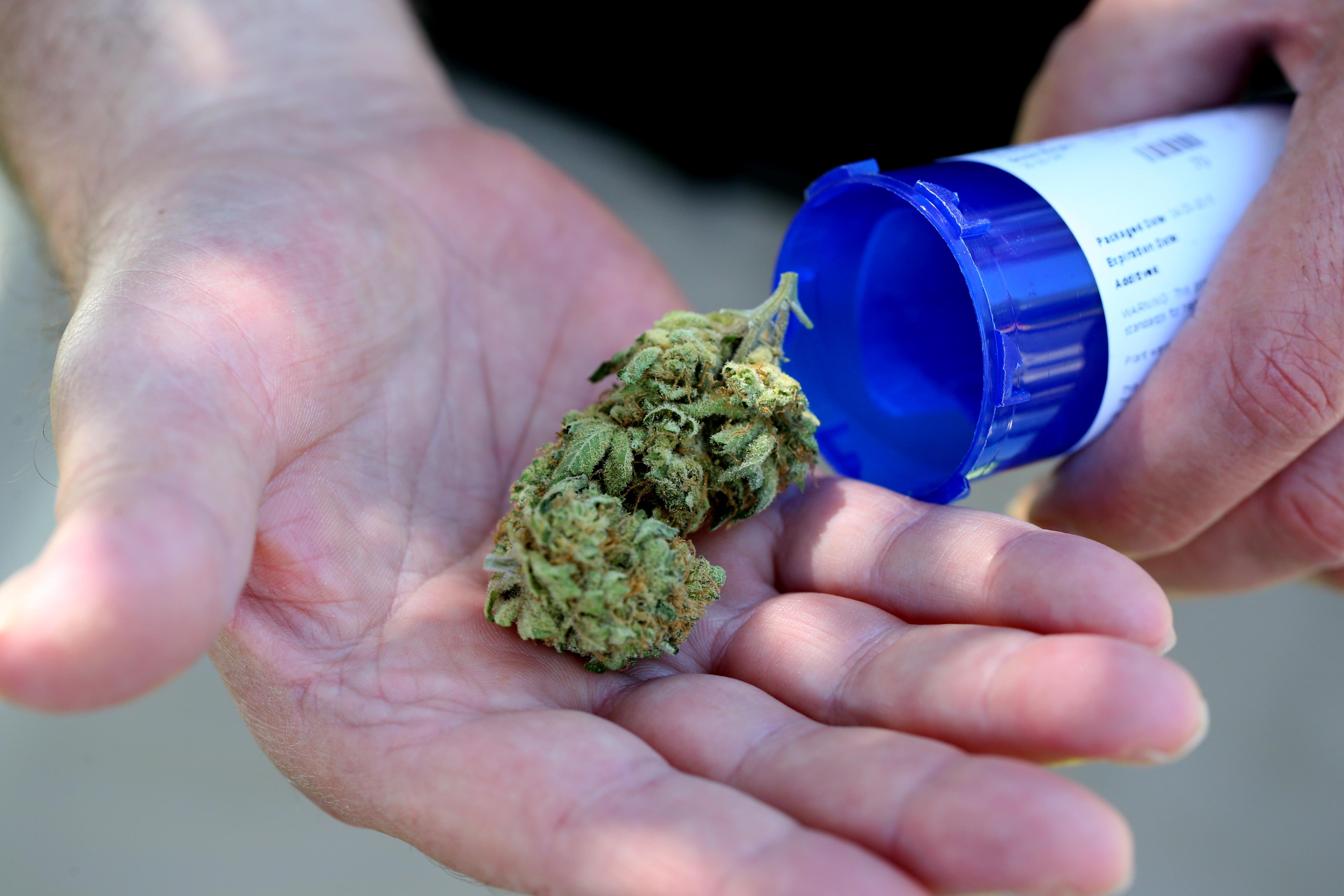 Patients In Salem Line Up For Marijuana