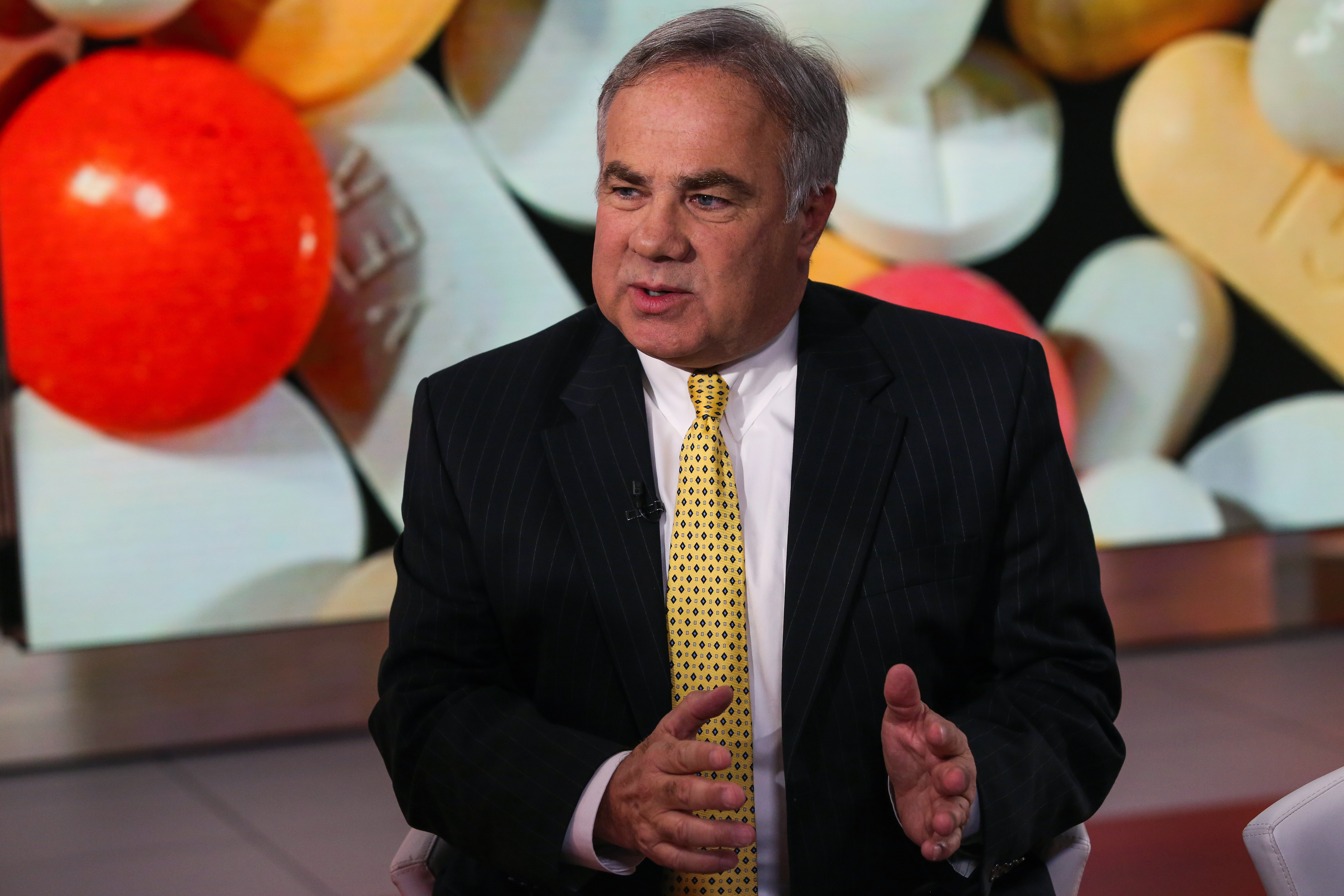 Joe Papa, now CEO of Valeant, speaking during a Bloomberg Television segment in late 2015.