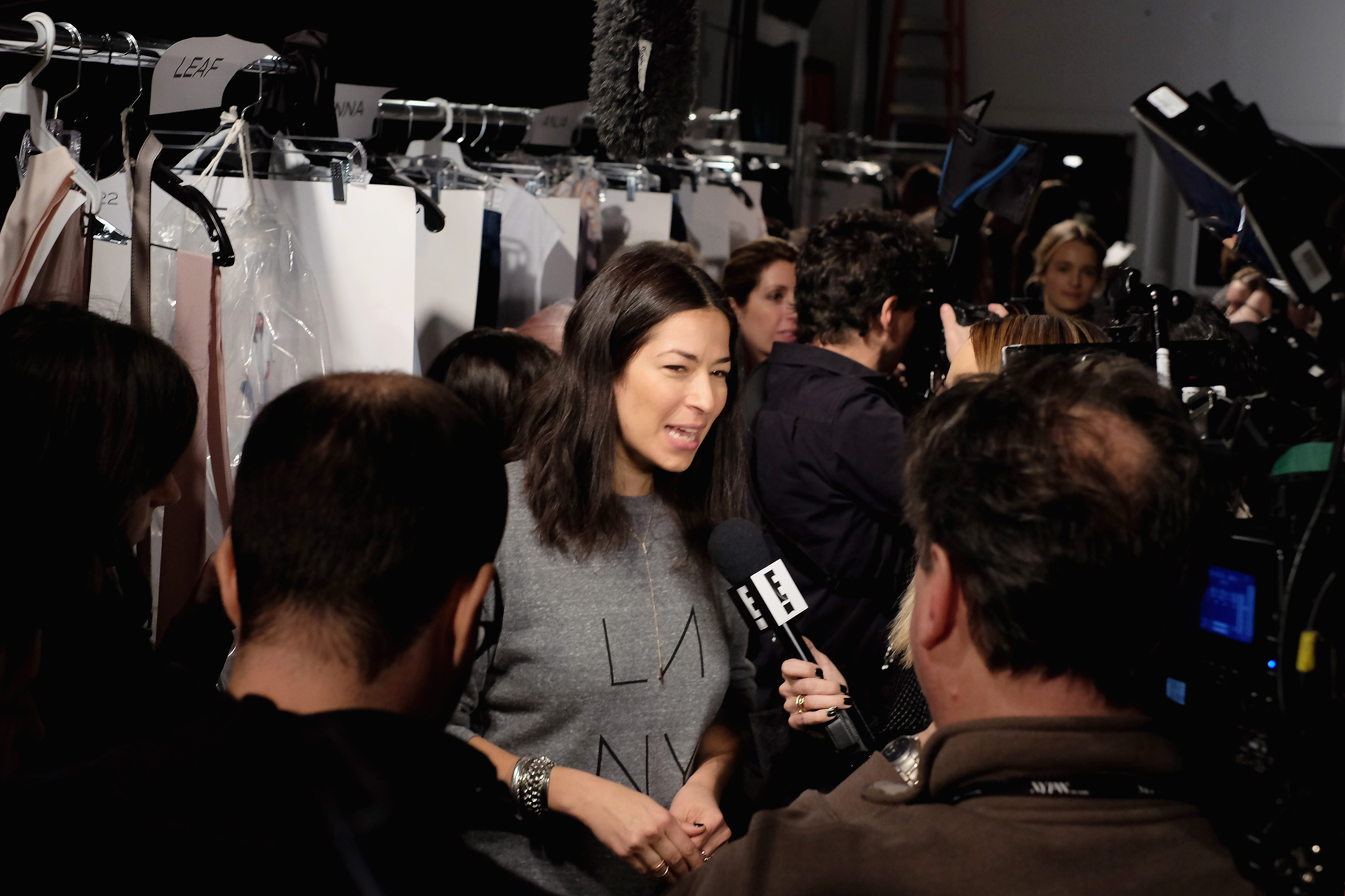 attends the Rebecca Minkoff Fall 2016 fashion show during New York Fashion Week: The Shows at The Gallery, Skylight at Clarkson Sq on February 13, 2016 in New York City.
