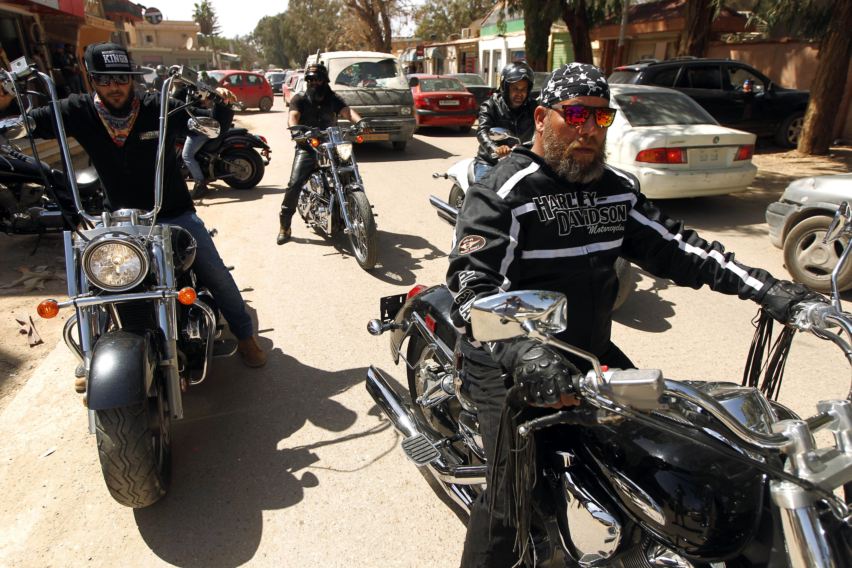 LIBYA-HOBBY-MOTORBIKES
