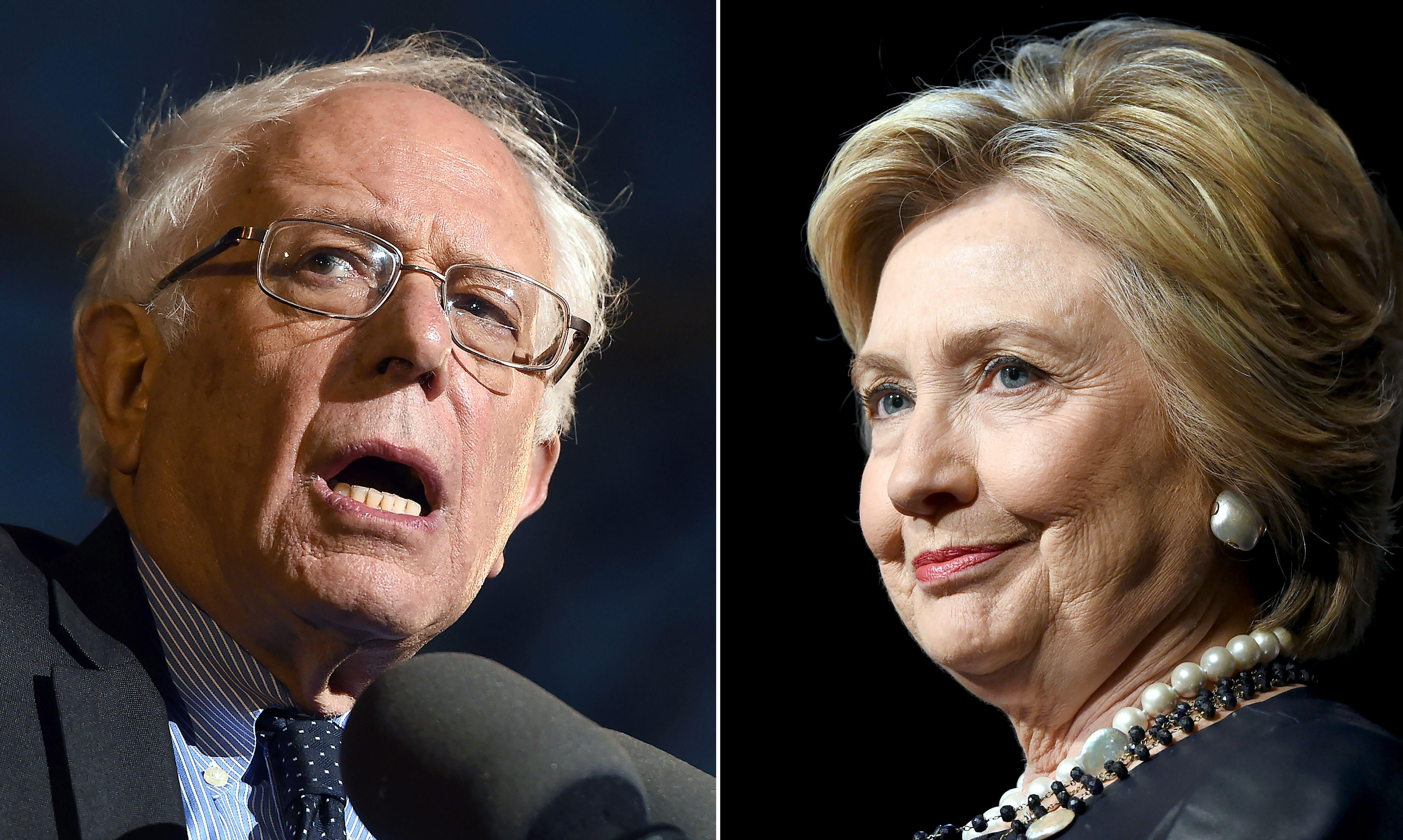 US-VOTE-DEMOCRATS-SANDERS-CLINTON