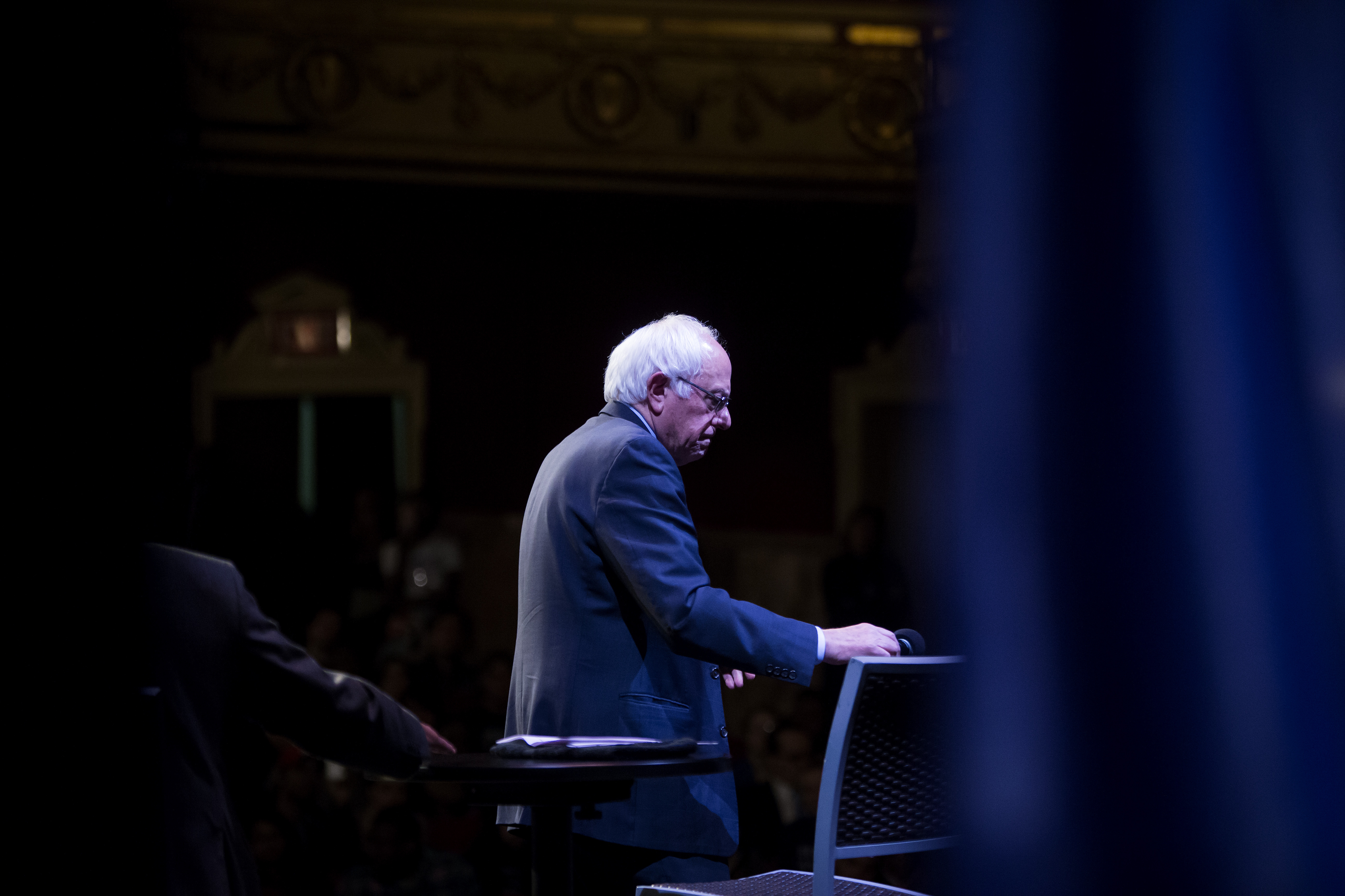 Democratic Presidential Candidate Bernie Sanders Campaigns In New York City