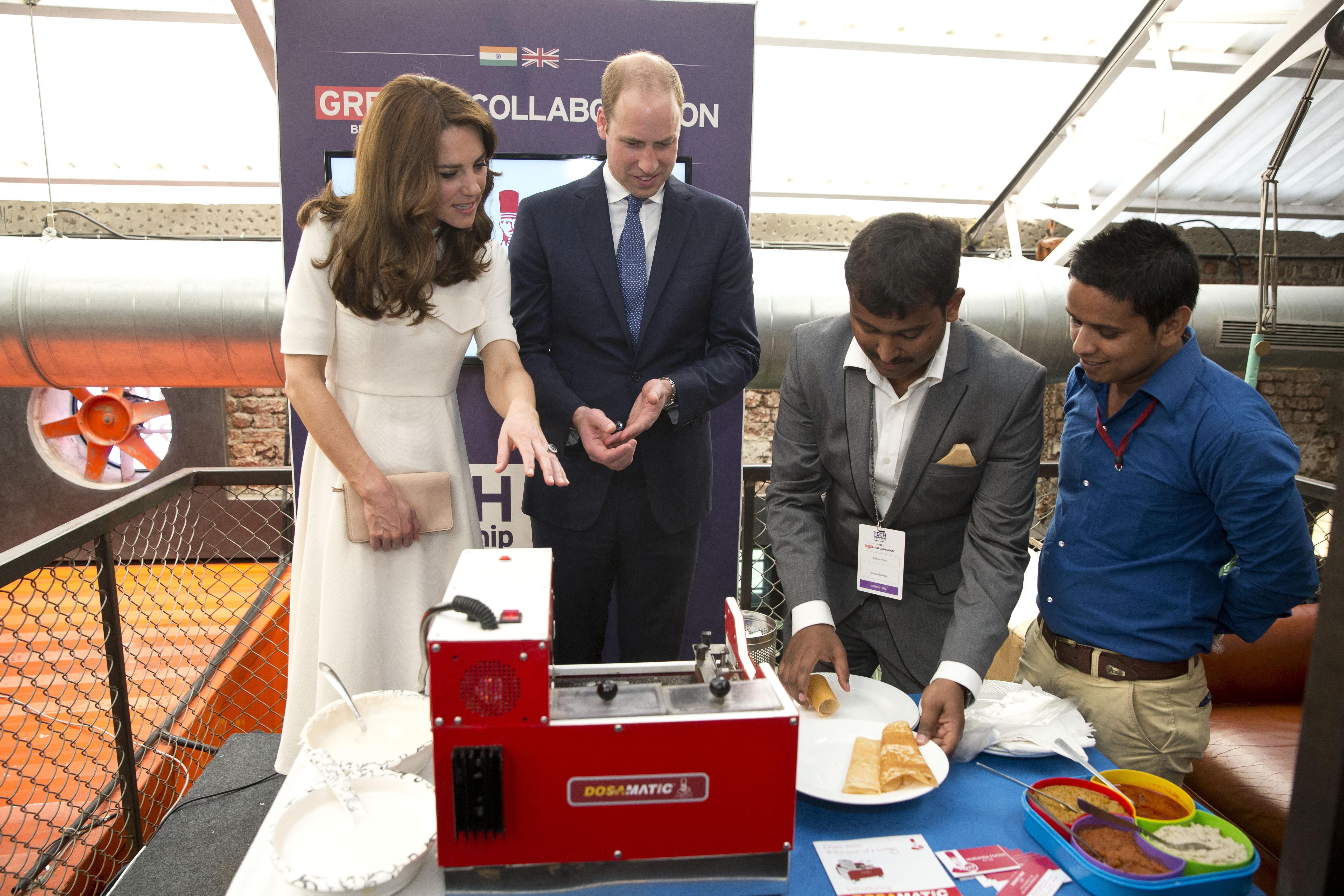 The Duke & Duchess Of Cambridge Visit India & Bhutan - Day 2