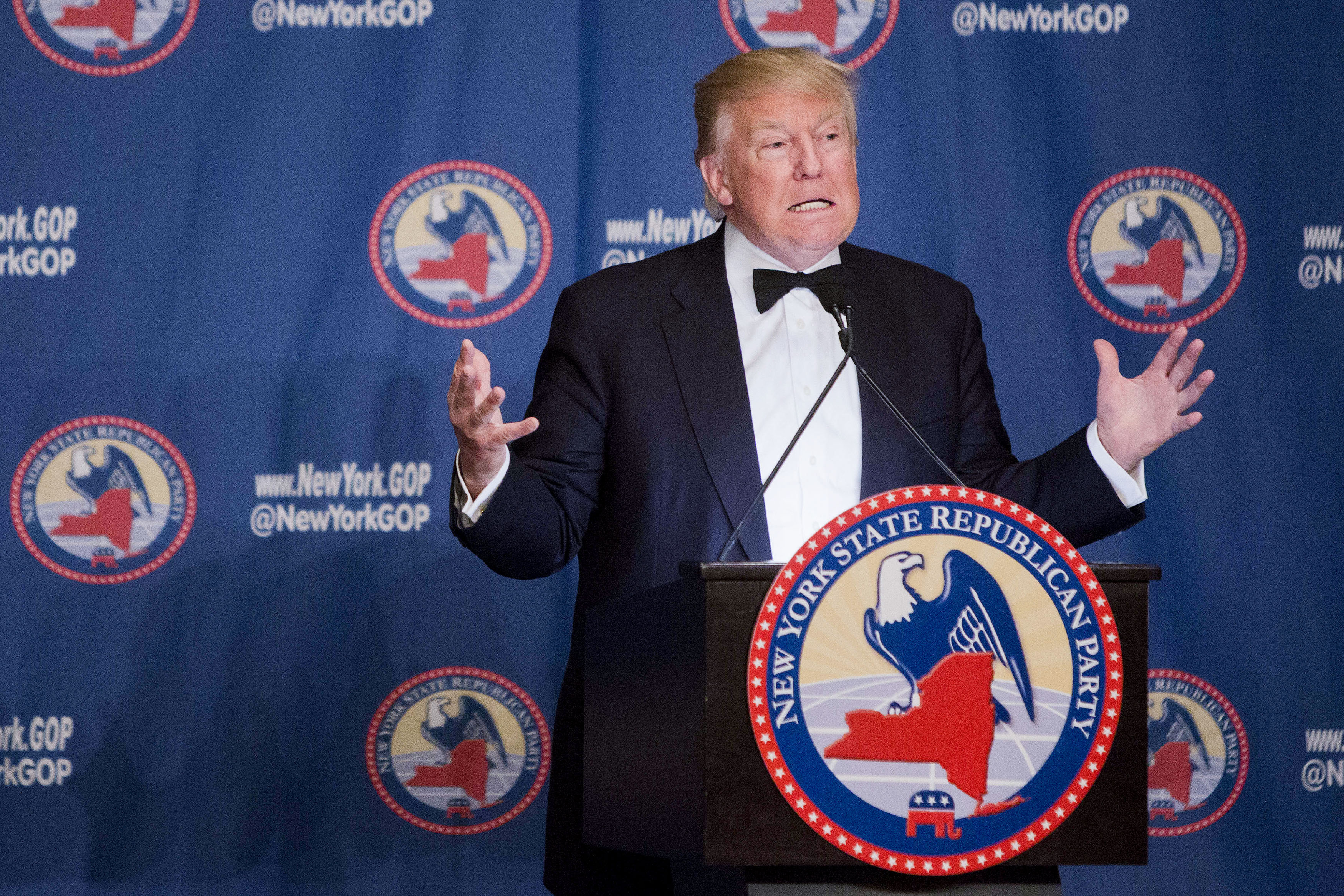 Presidential Candidates Speak At The New York State Republican Gala