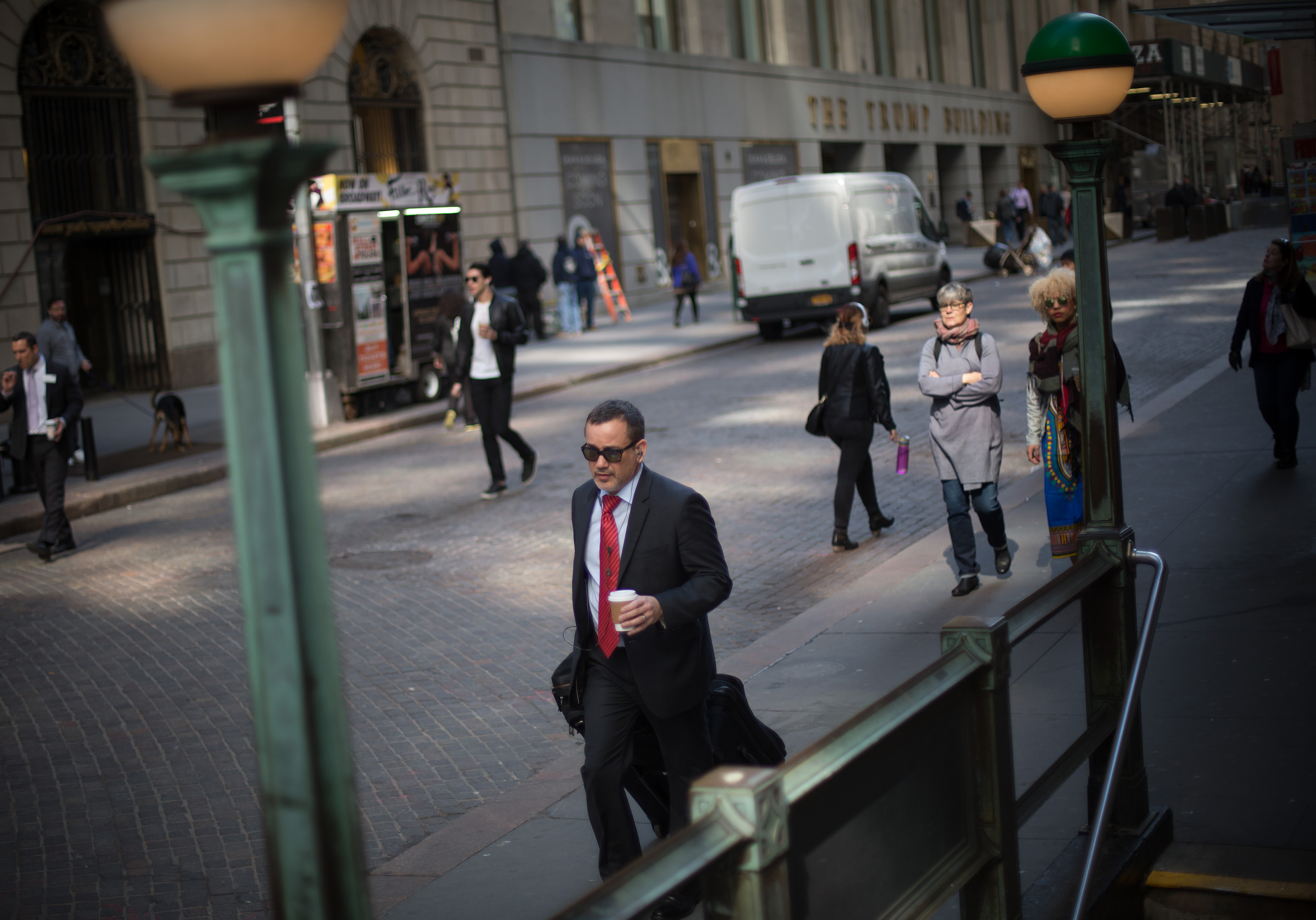 Trading On The Floor Of The NYSE As U.S. Stocks Little Changed While Energy Slump Offsets Earnings