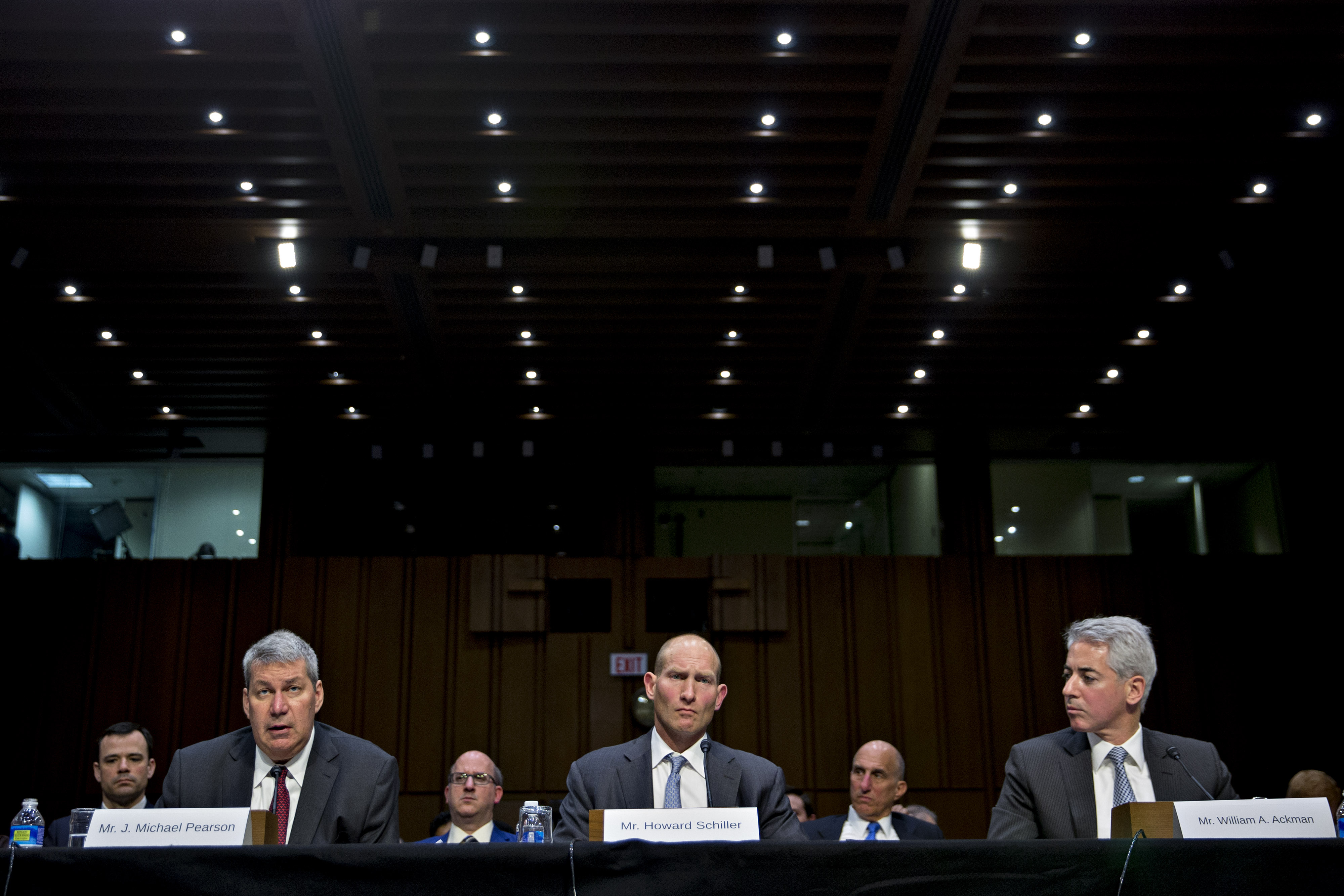 Valeant Pharmaceuticals International Inc. Executives Testify At Senate Hearing On Drug Prices