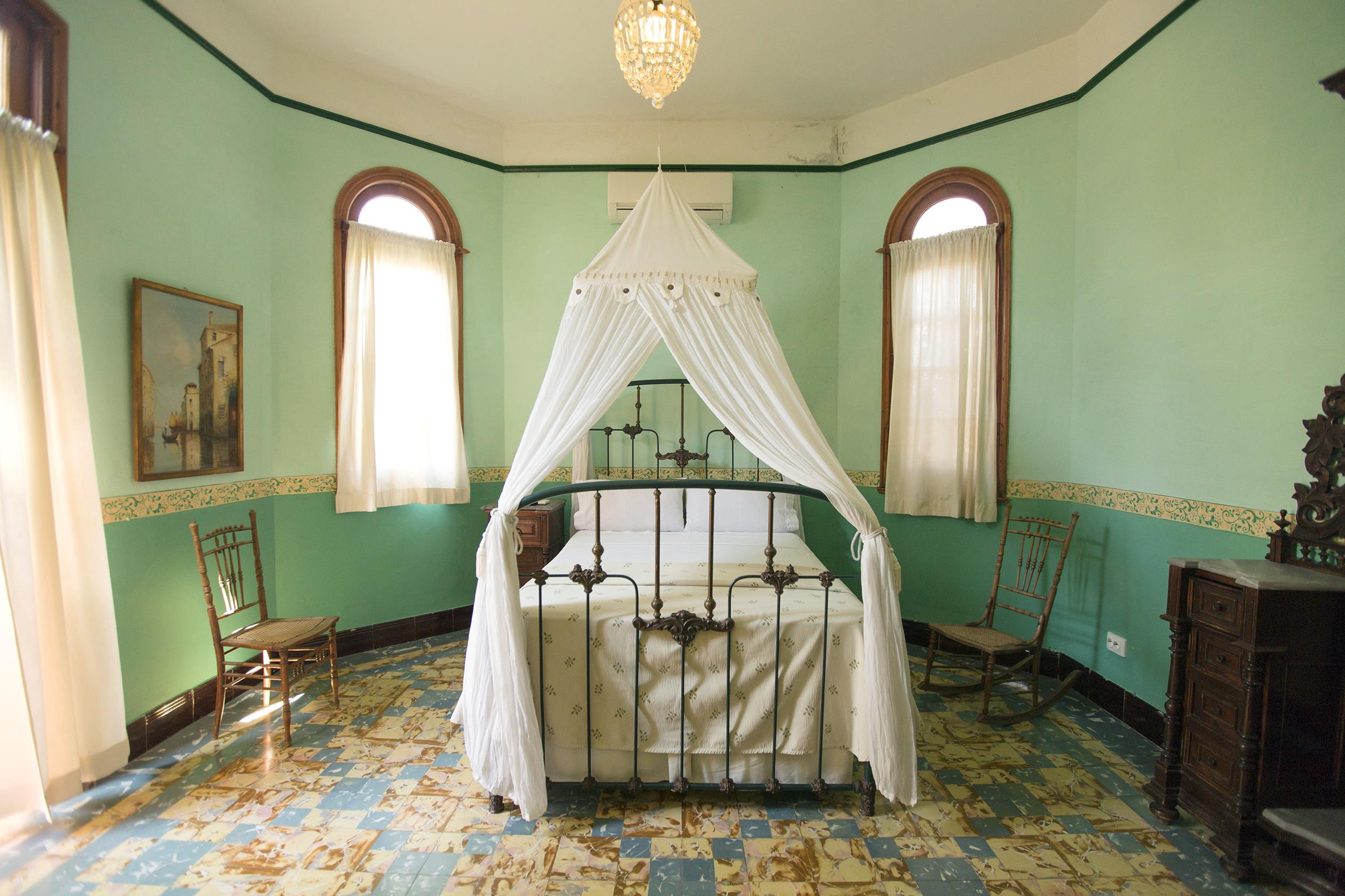 "Bedroom in ""La Rosa de Ortega"" listing—an Airbnb listing in Havana."