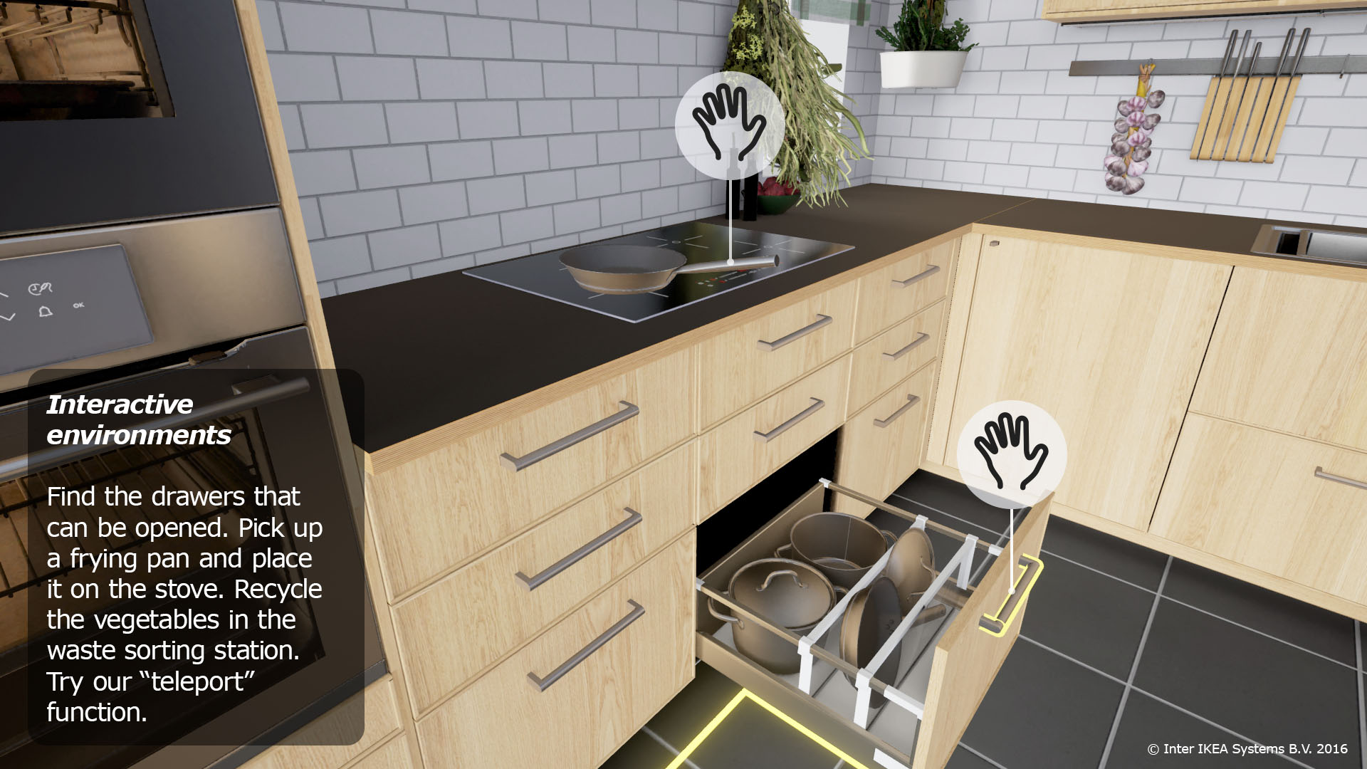 Excellent Ikea Embraces Virtual Reality With Virtual Kitchen For Htc Interior Design Ideas Truasarkarijobsexamcom
