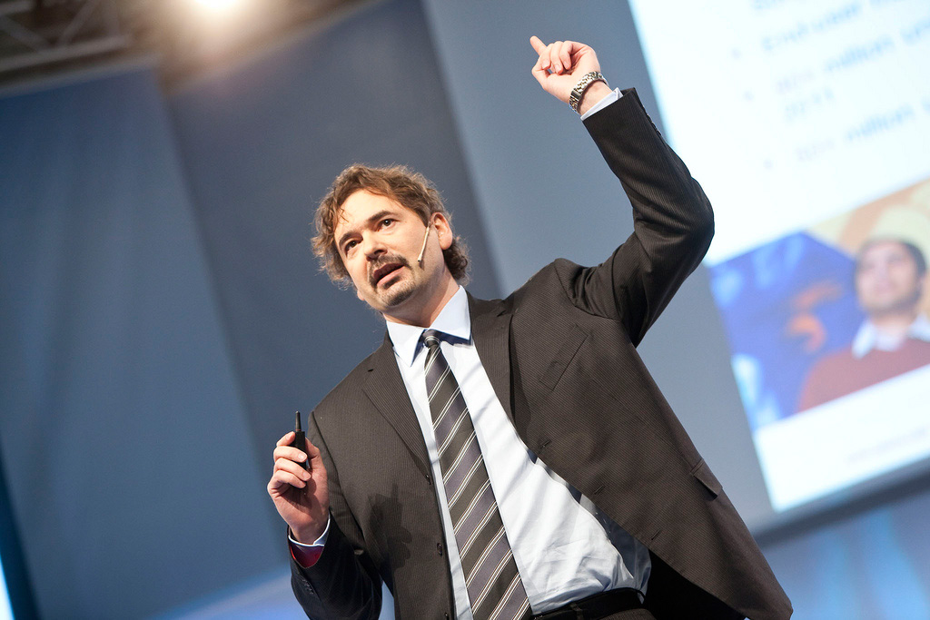 Vivaldi CEO Jon von Tetzchner, also the co-founder of Opera.