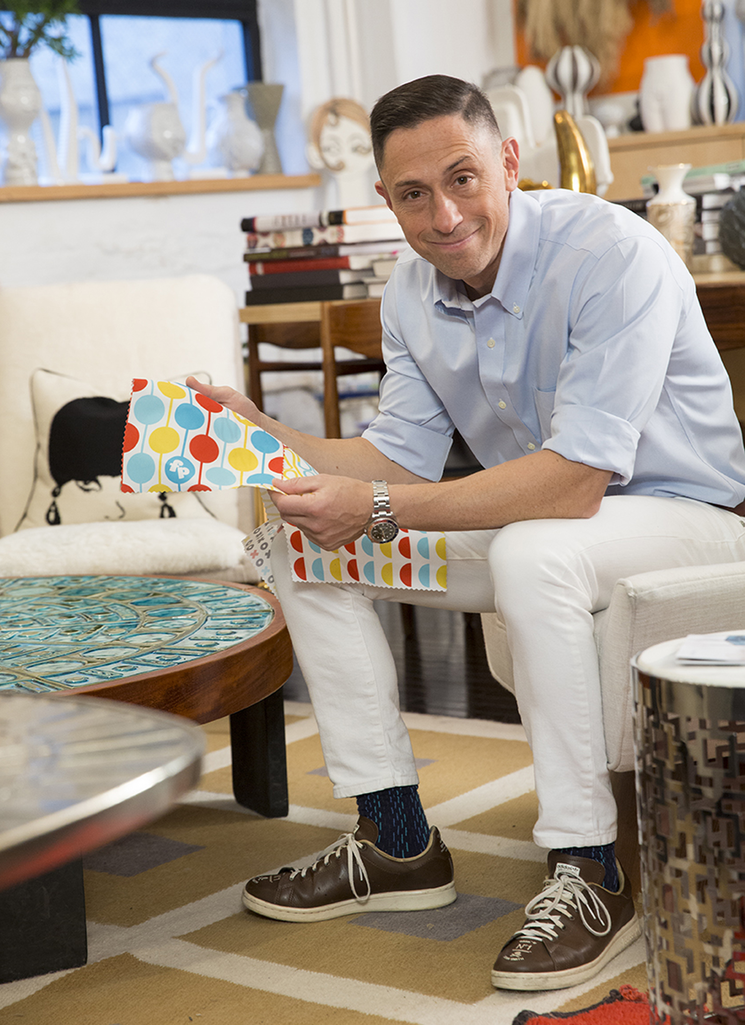 Fisher-Price has appointed potter, designer and author Jonathan Adler as Creative Director.