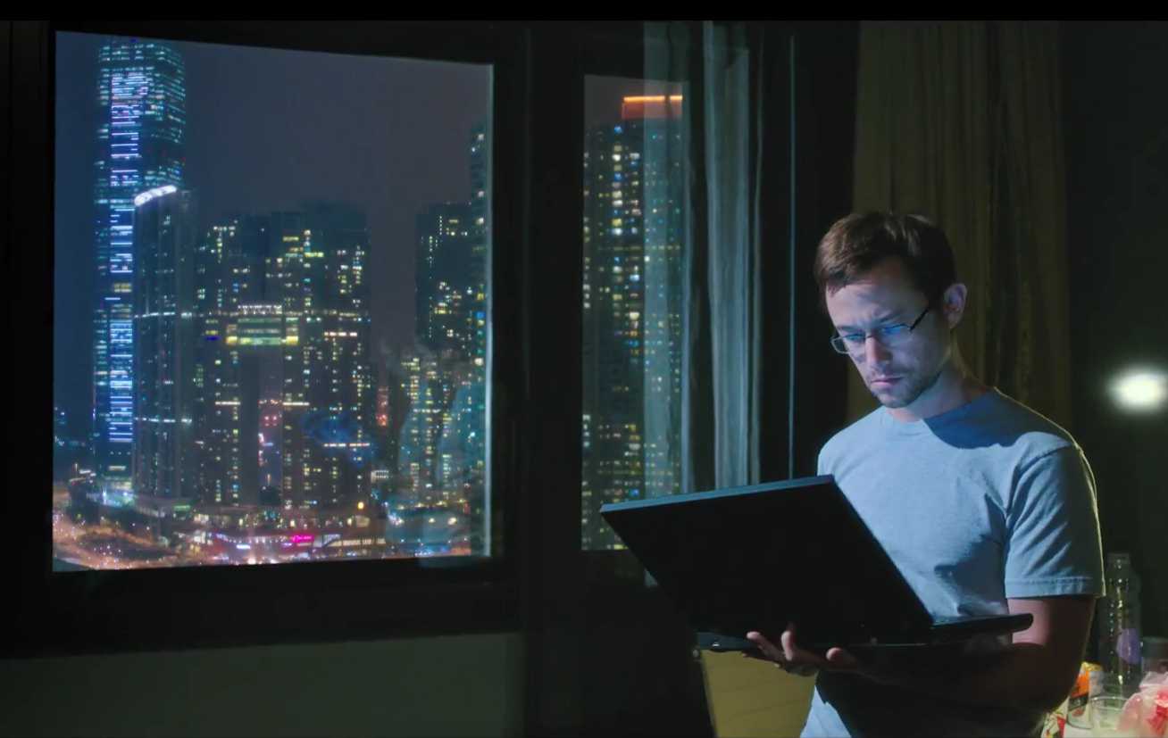 Joseph Gordon Levitt as Snowden