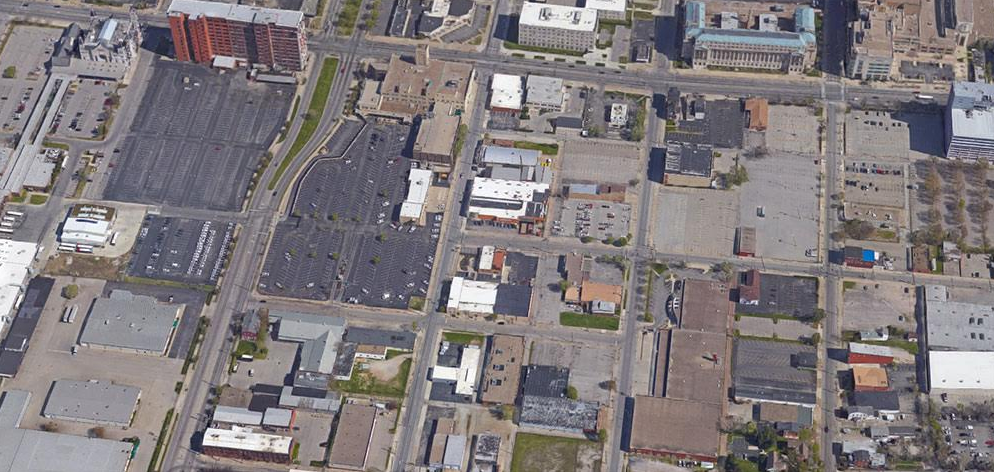 "Louisville's downtown ""parking crater"" has worsted its rivals to enter the Final Four of Parking Madness."