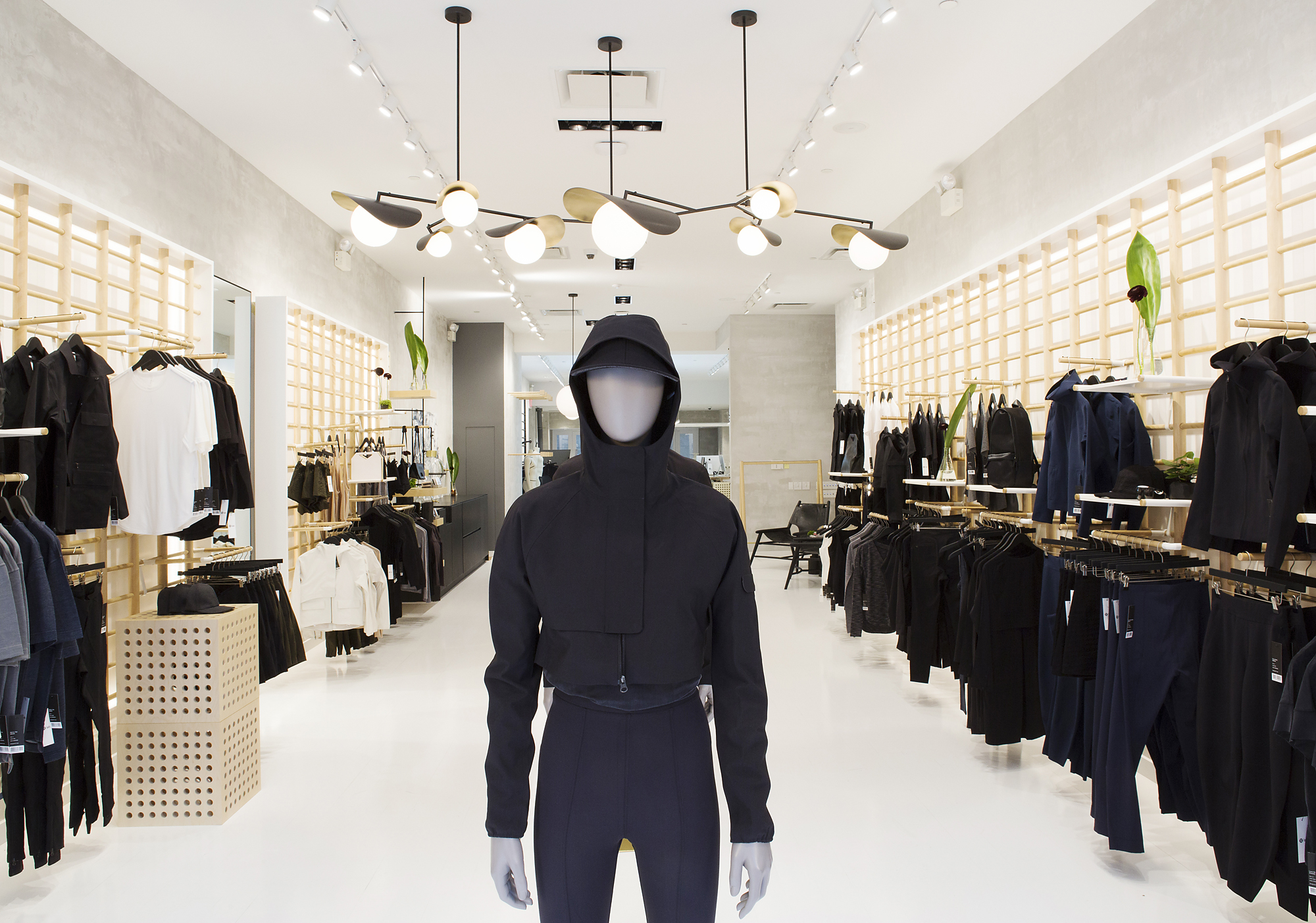 The Lululemon Lab opened its first New York City location in the NoHo neighborhood of Manhattan.