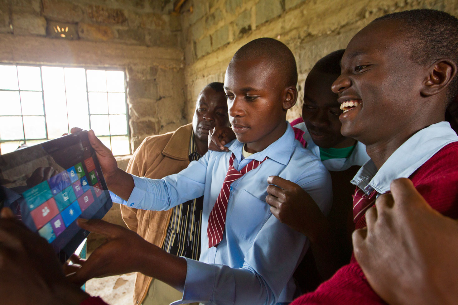 Microsoft's 4Afrika initiative was created in 2013 to train potential future employees and to place smart tech devices in the hands of young Africans.