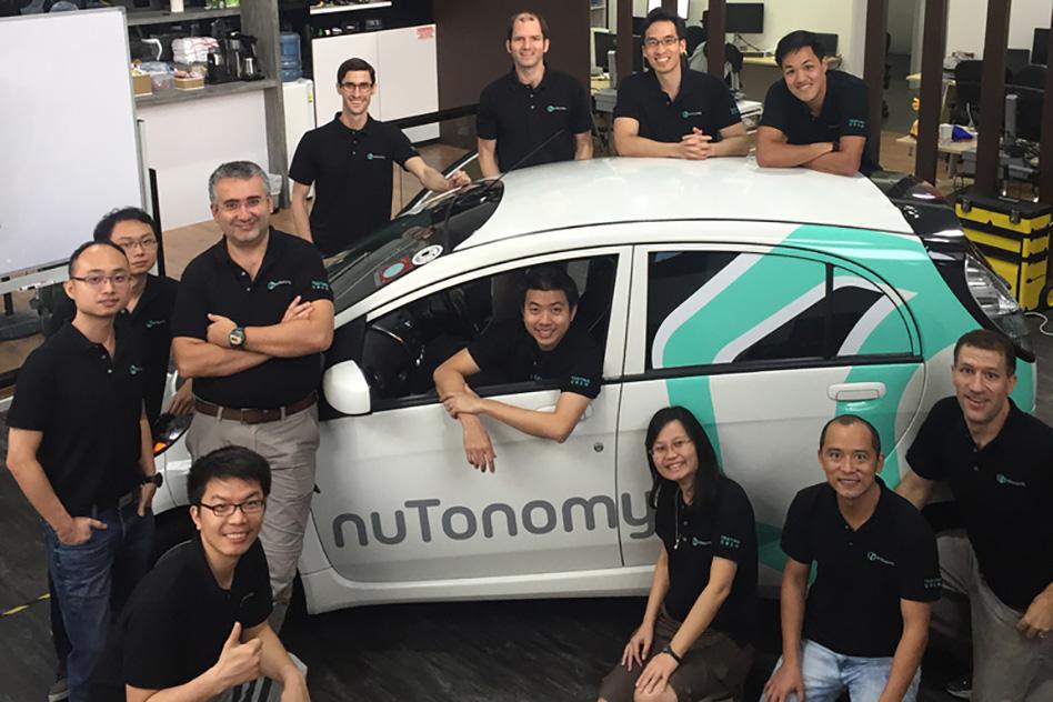 The nuTonomy team.