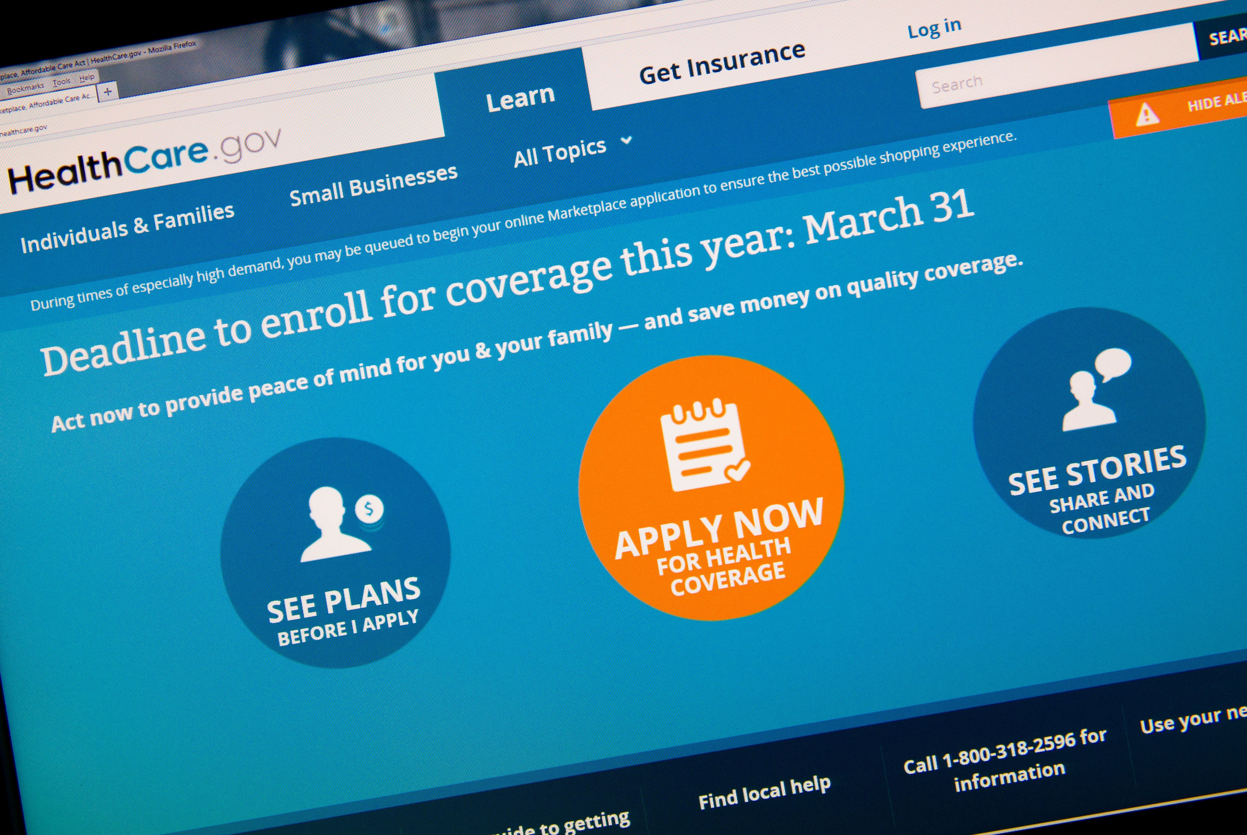 You'll be able to get your Obamacare.