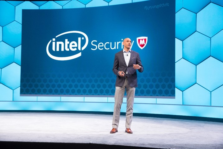 Chris Young, general manager of Intel Security, is now the CEO of the newly independent McAfee.