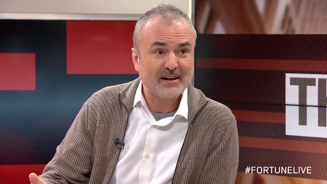 Nick Denton, founder and CEO of Gawker Media, on Fortune Live.