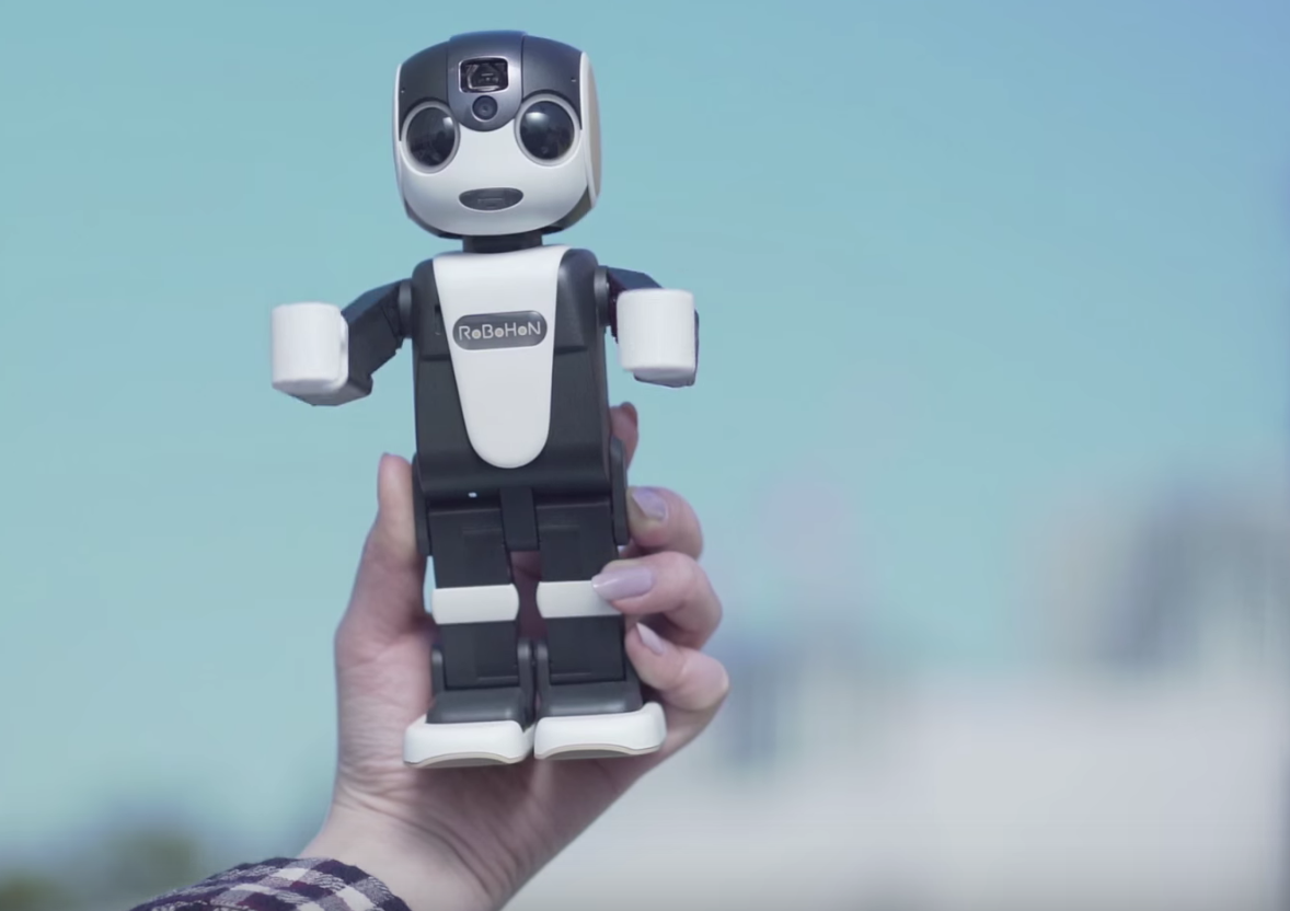 The new RoBoHoN smartphone from Sharp costs $1,800.