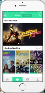 Fullscreen app on an iPhone