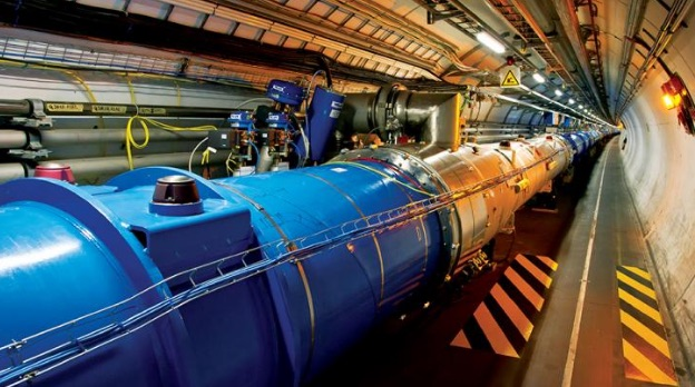 Large Hadron Collider at CERN.
