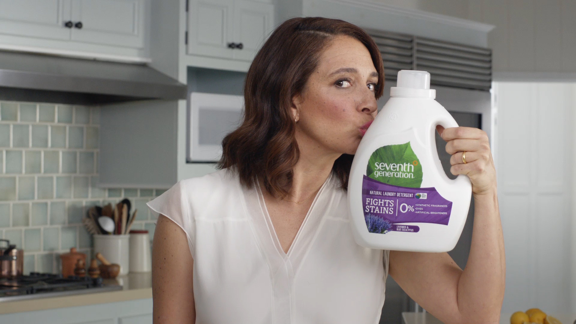 Maya Rudolph is a new spokeswoman for Seventh Generation's household goods advertising campaign.
