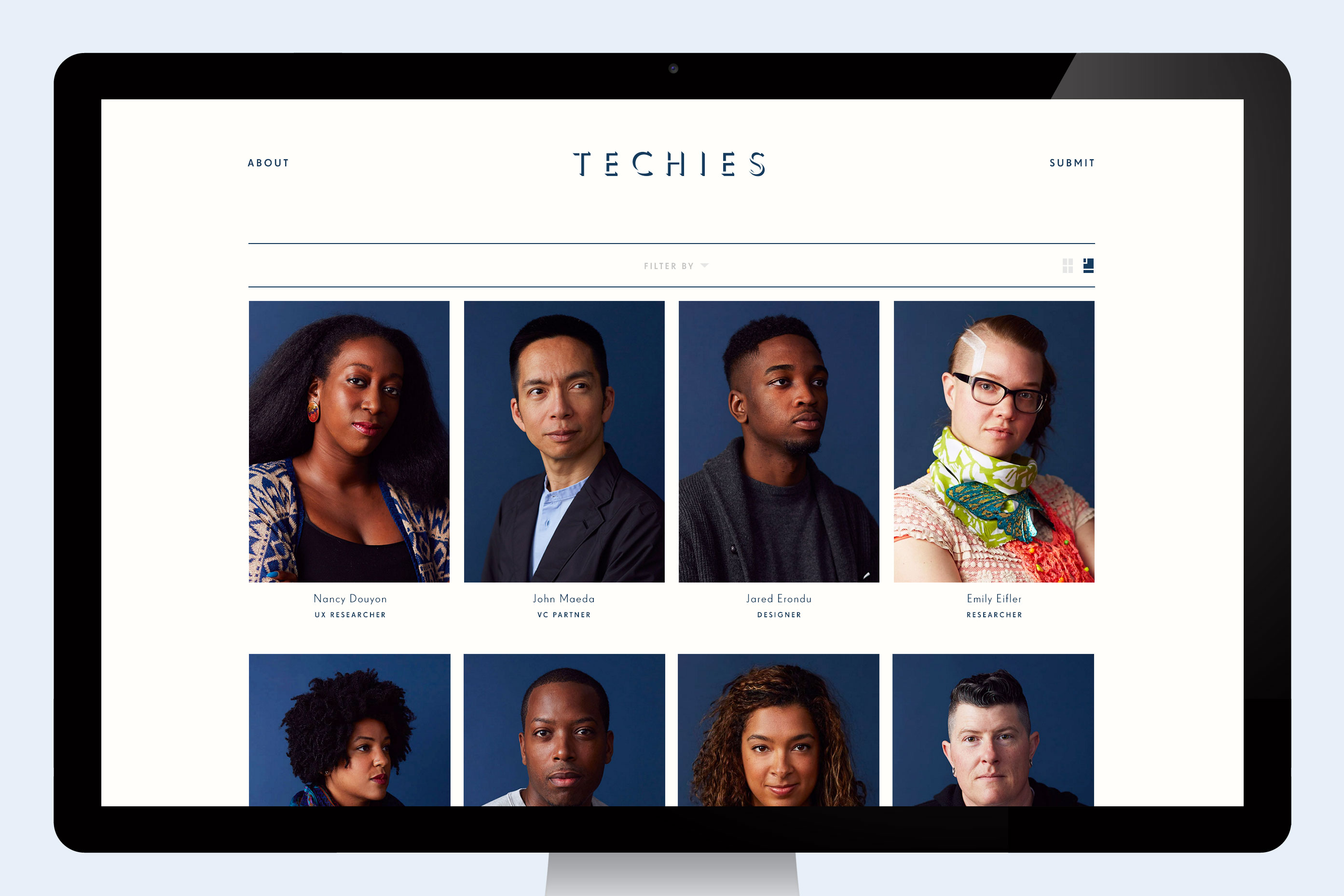 "Helena Price's ""Techies"" project."