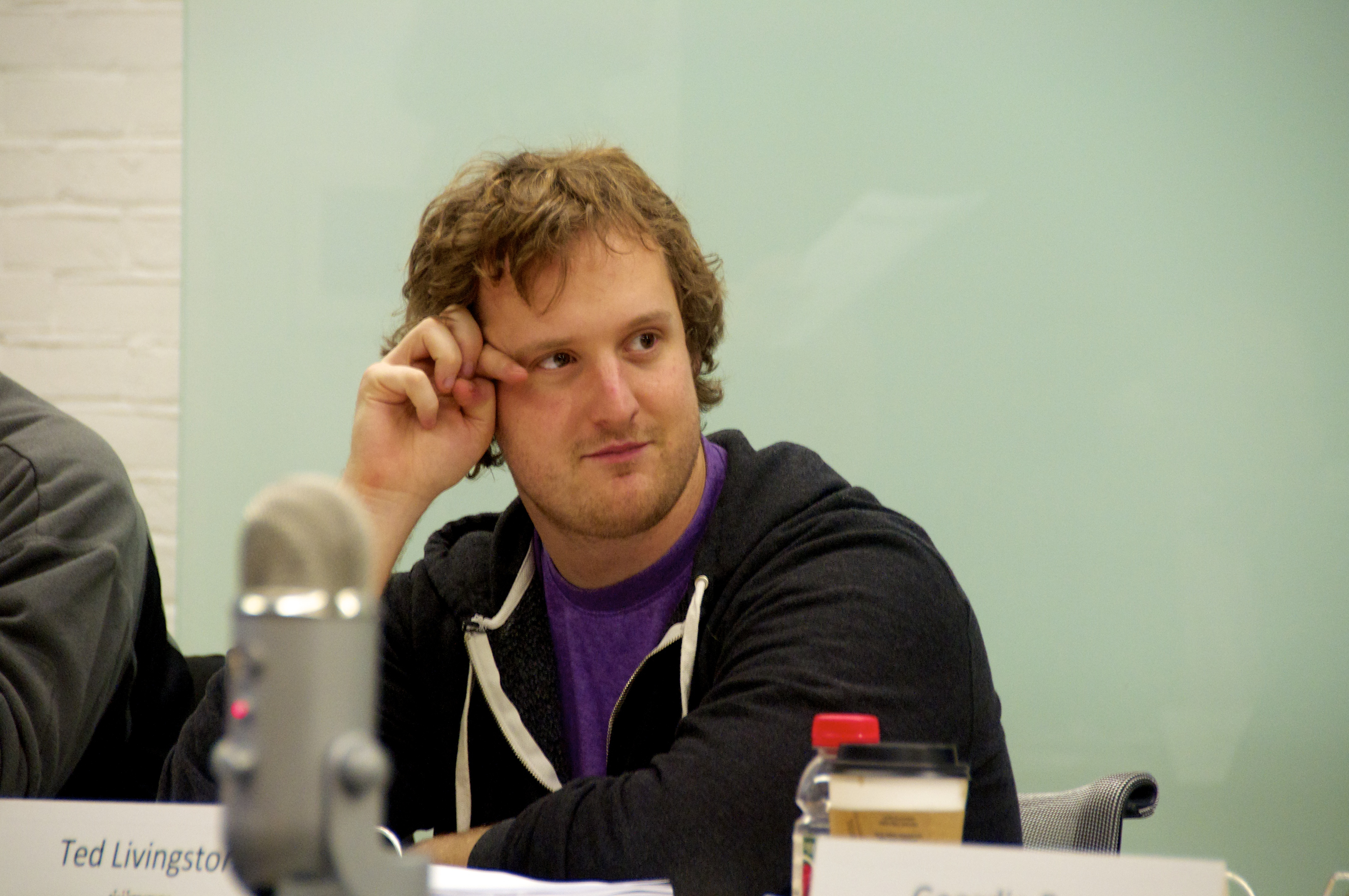 Kik founder and CEO Ted Livingston