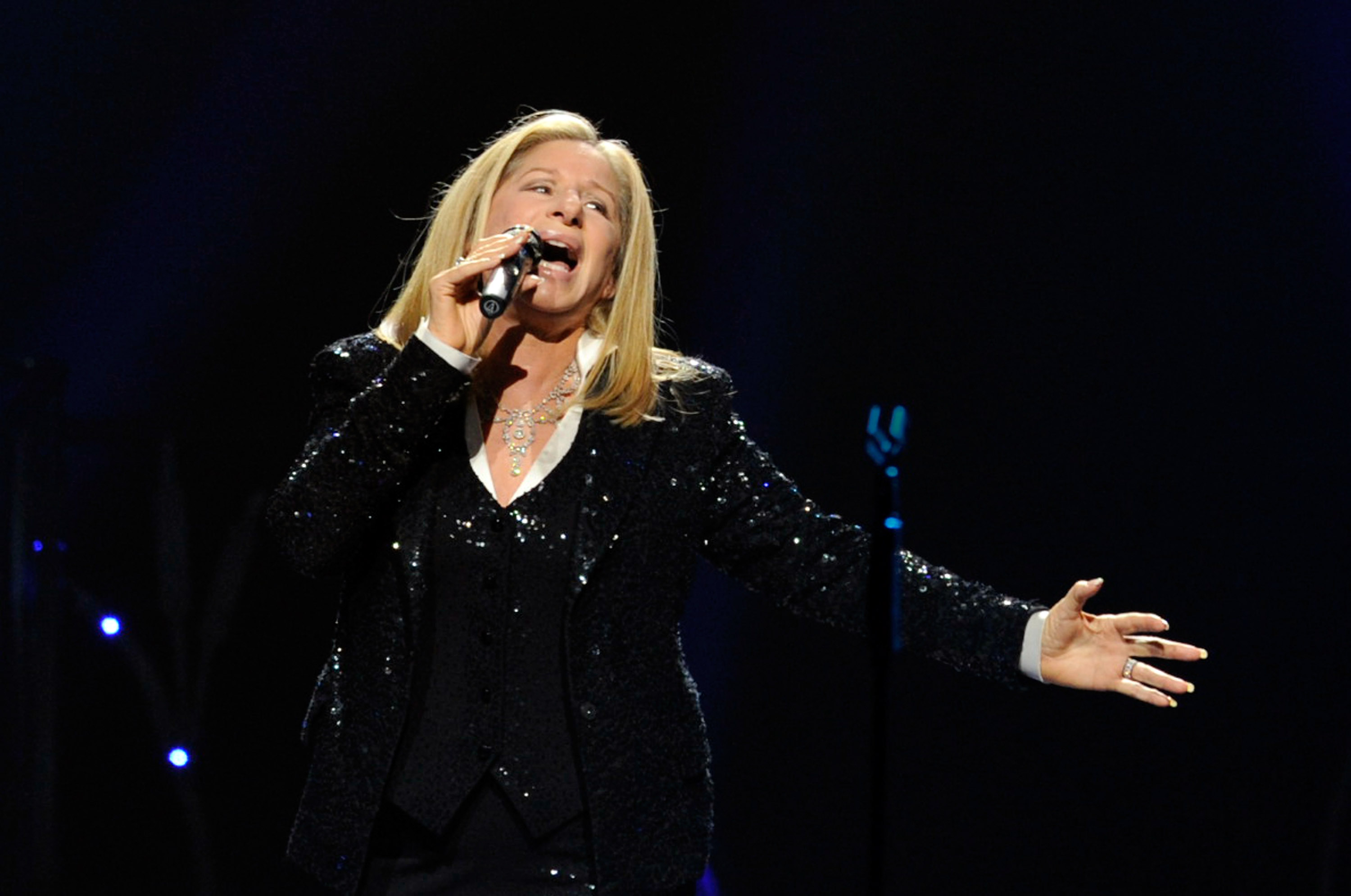 Barbra Streisand Performs At The MGM Grand