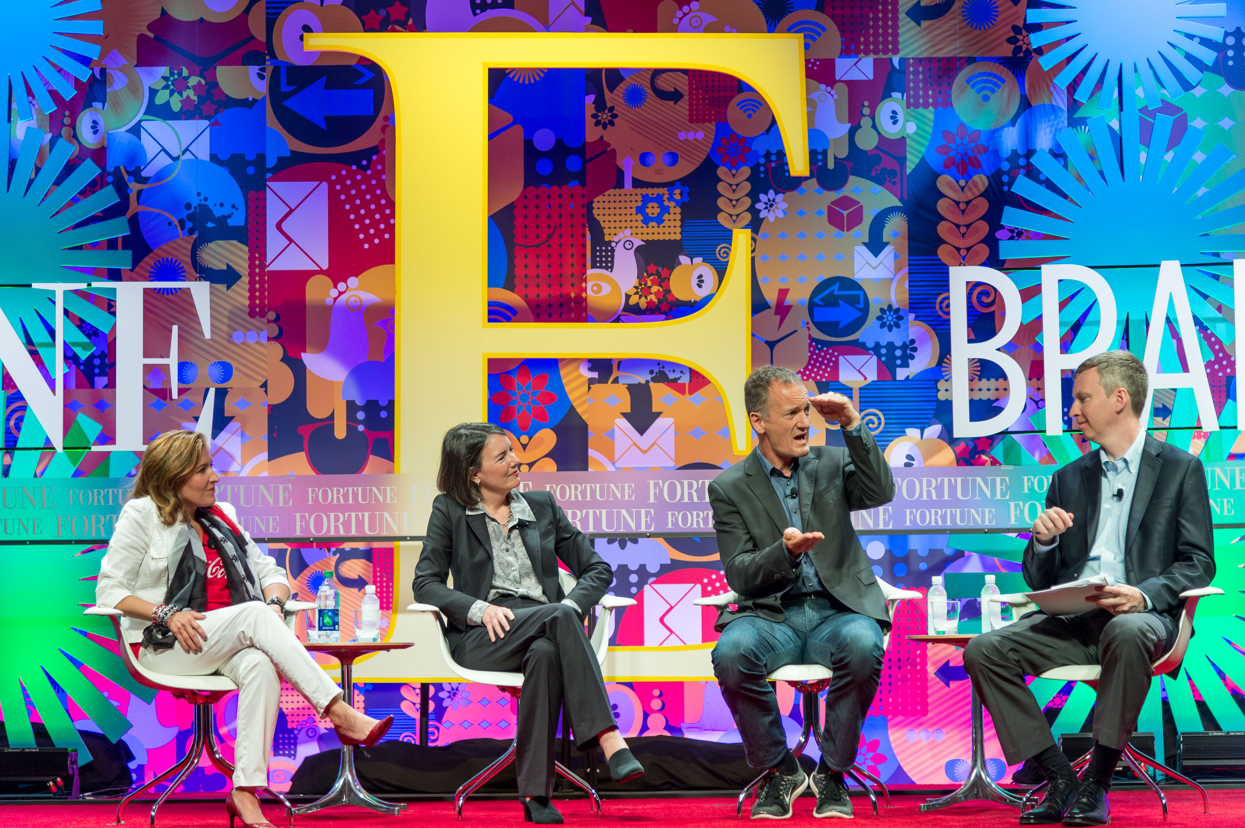 The chief sustainability officers of Coca-Cola, Walmart, and Ikea discuss the circular economy.