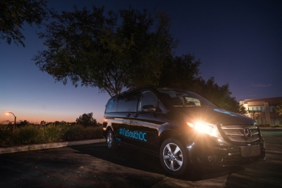 Via, an on-demand transit service, launched a program in DEcember 2015 with Mercedes-Benz in Orange County, Calif.