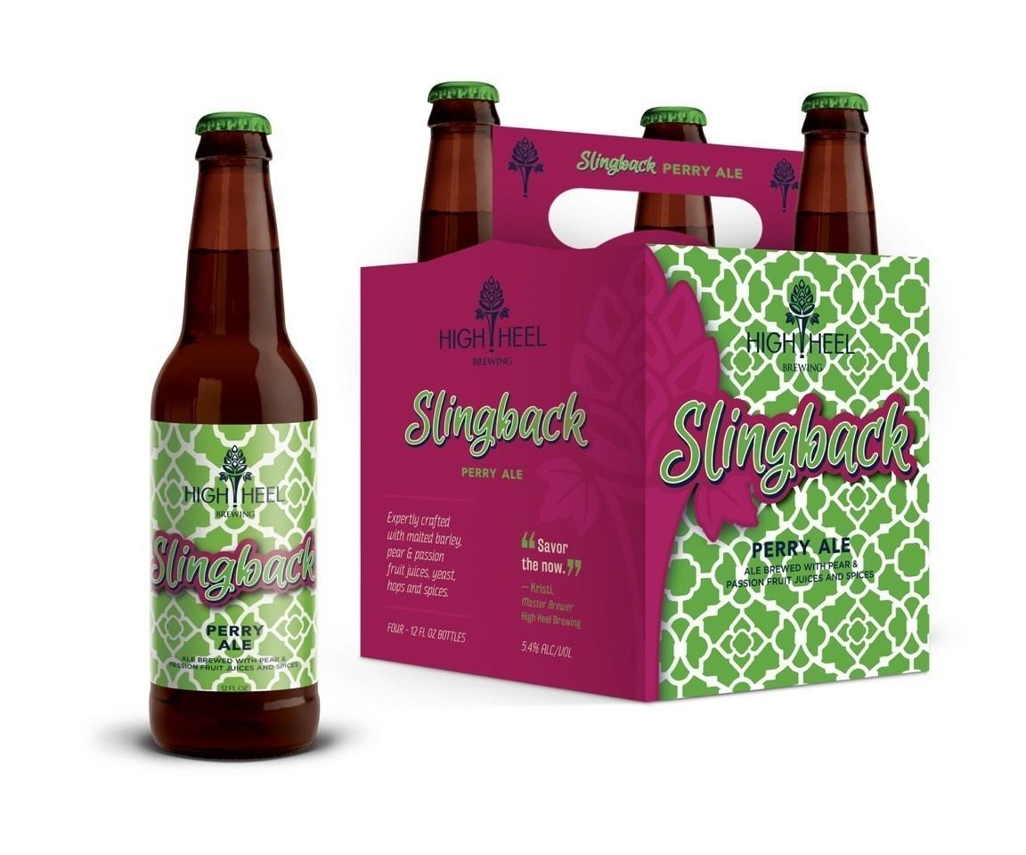High Heel Slingback Perry Ale