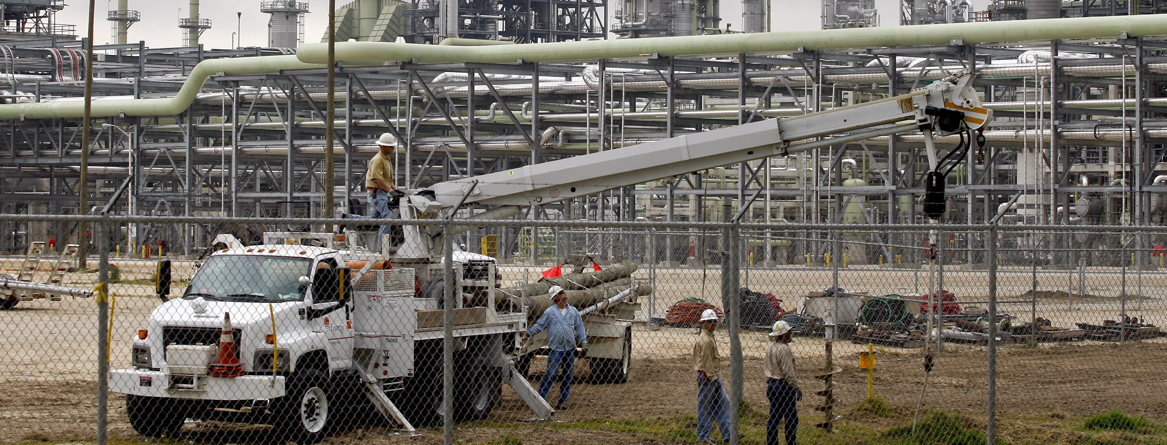 Tour of Marathon Oil Company's Garyville Refinery