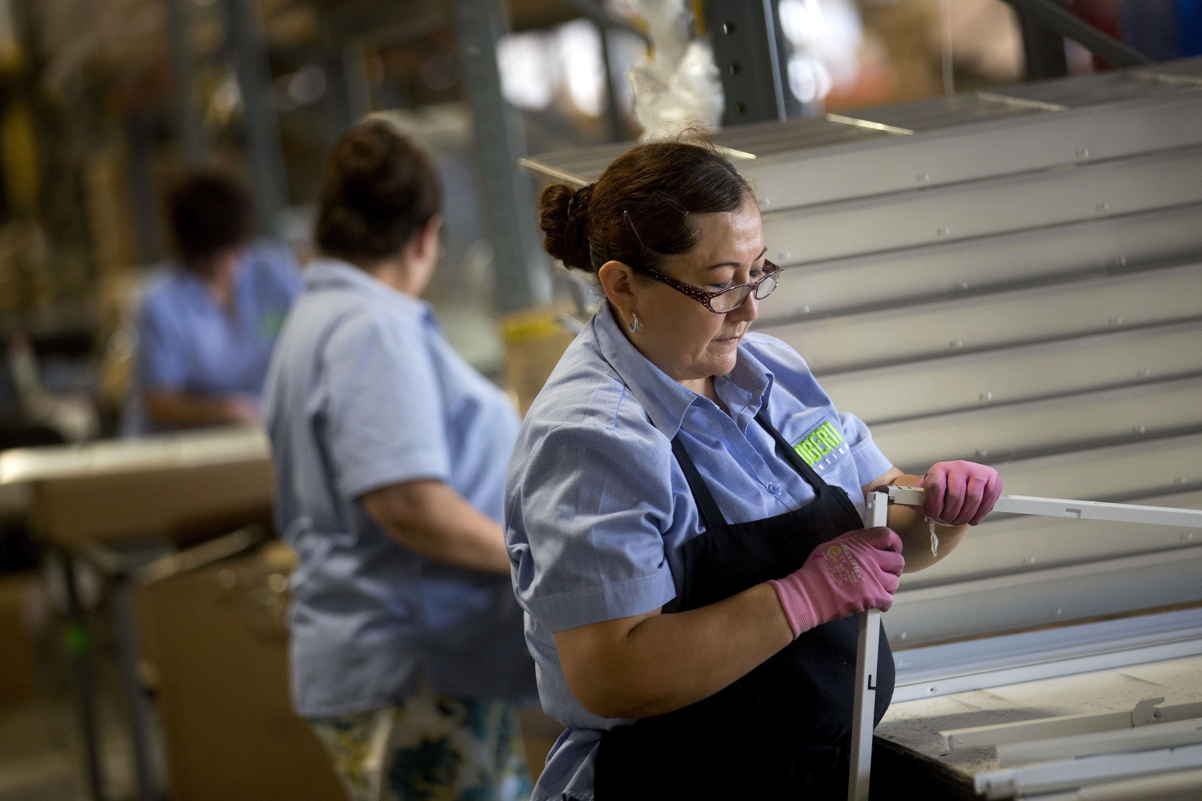 Operations At Mobern Lighting Co. Ahead Of Richmond Fed's Manufacturing Survey