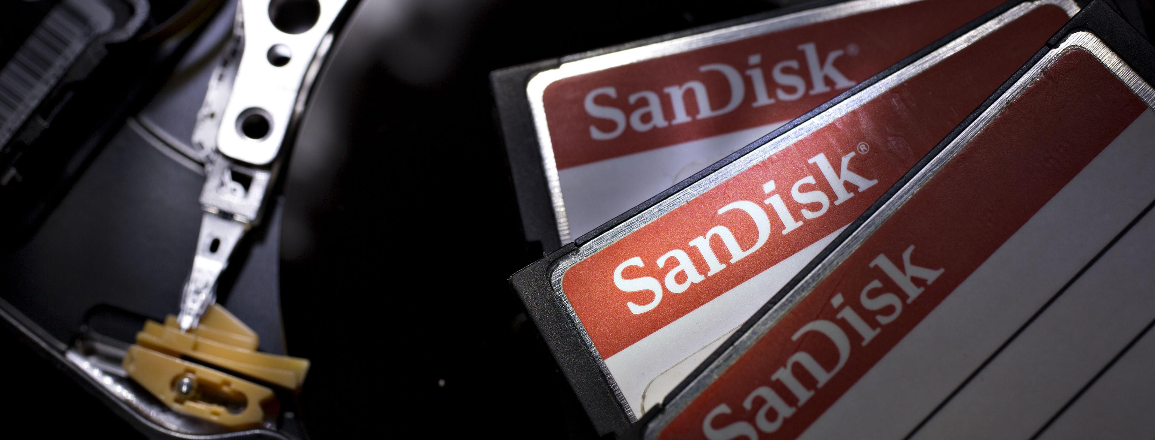 Western Digital Agrees to Buy SanDisk for About $19 Billion