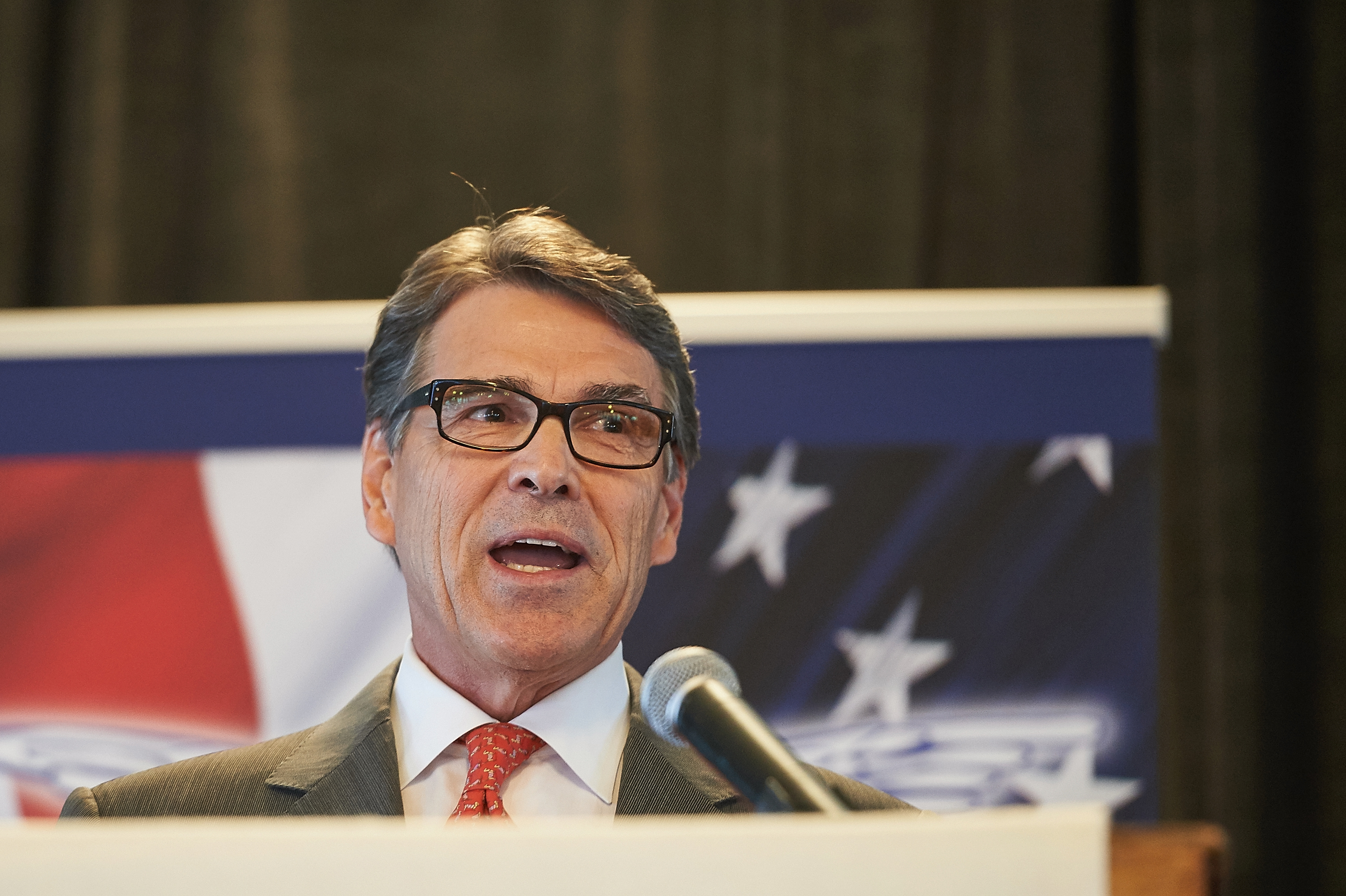 Rick Perry Drops Out Of Presidential Race At Candidate Forum In St. Louis