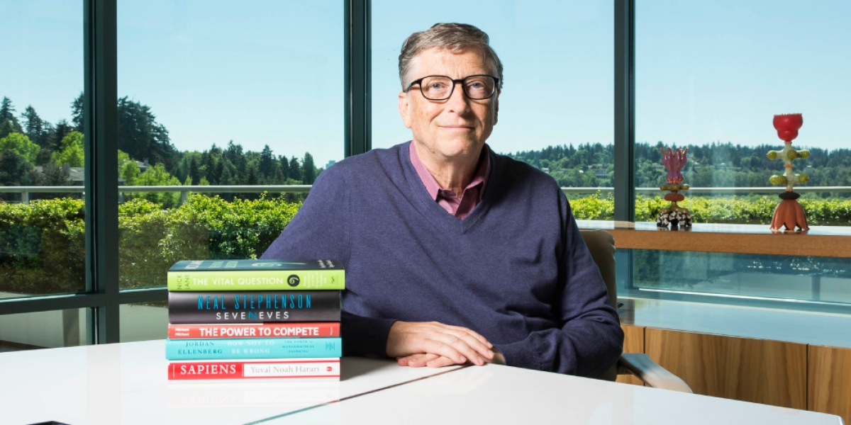 Bill Gates Thinks You Should Read These 5 Books This Summer