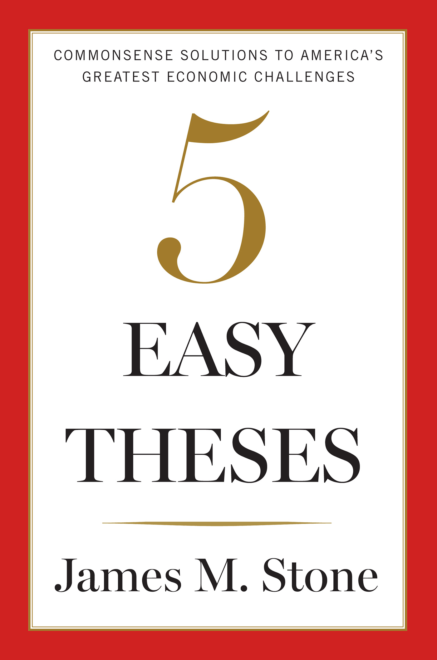 5 easy theses book jacket