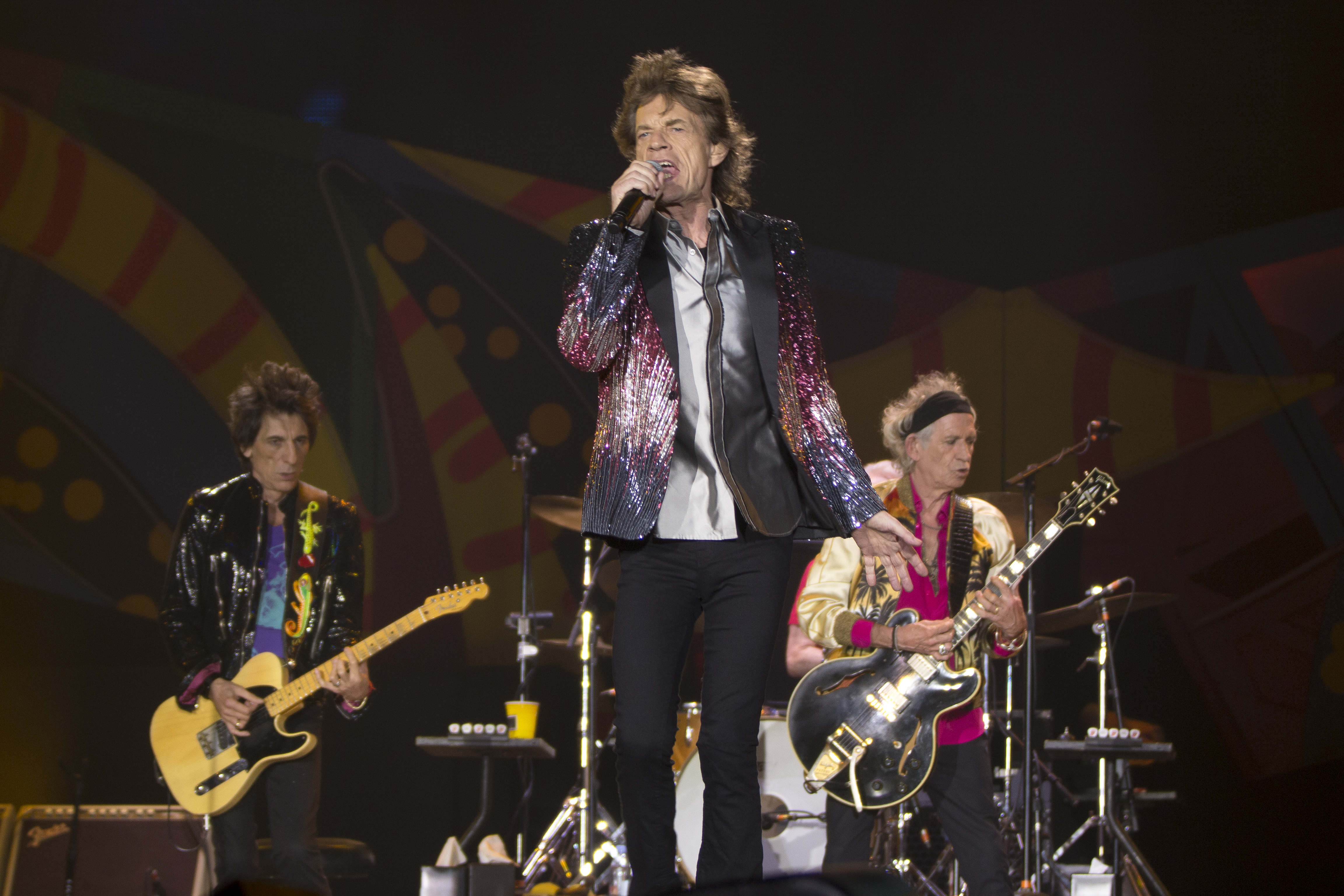 The Rolling Stones kick off their America Latina Olé Stadium Tour at Estadio Nacional in Santiago, Chile