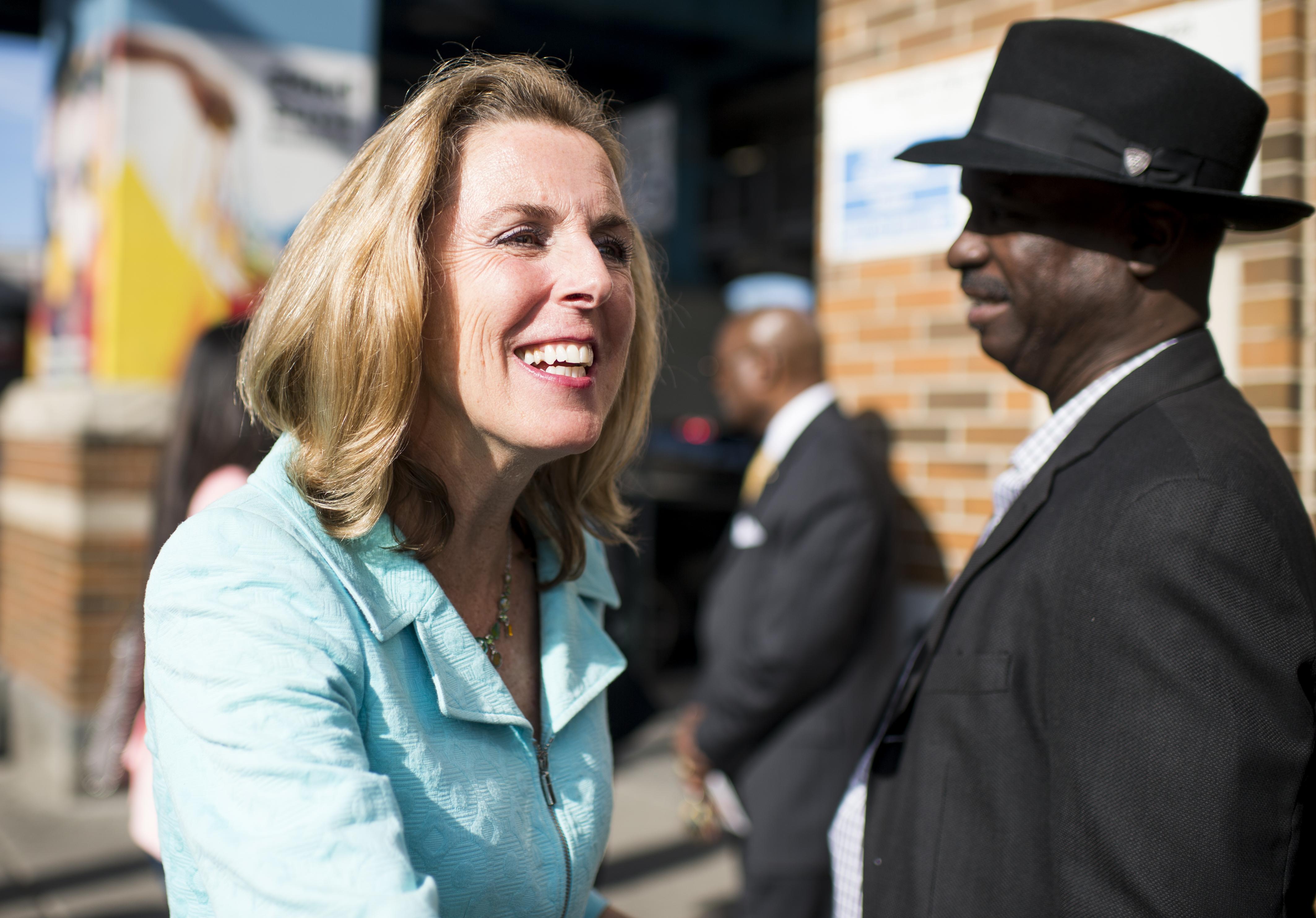 Pennsylvania U.S. Senate candidate Katie McGinty