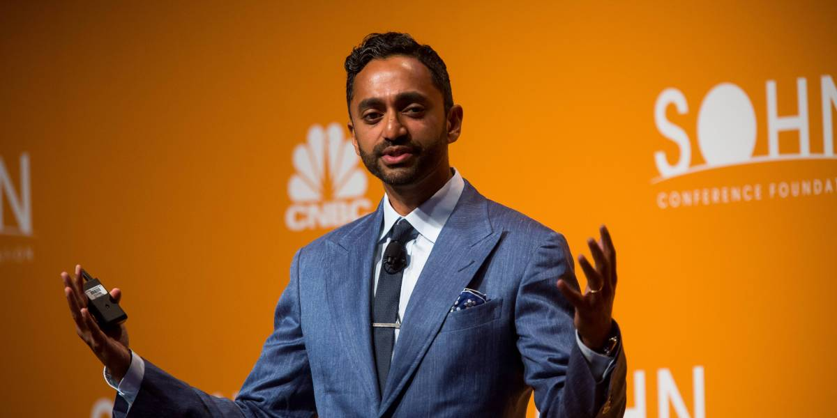A short seller vs. Chamath Palihapitiya