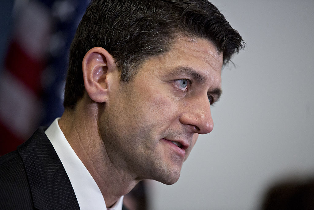 House Speaker Paul Ryan Addresses Media Following House Republican Conference