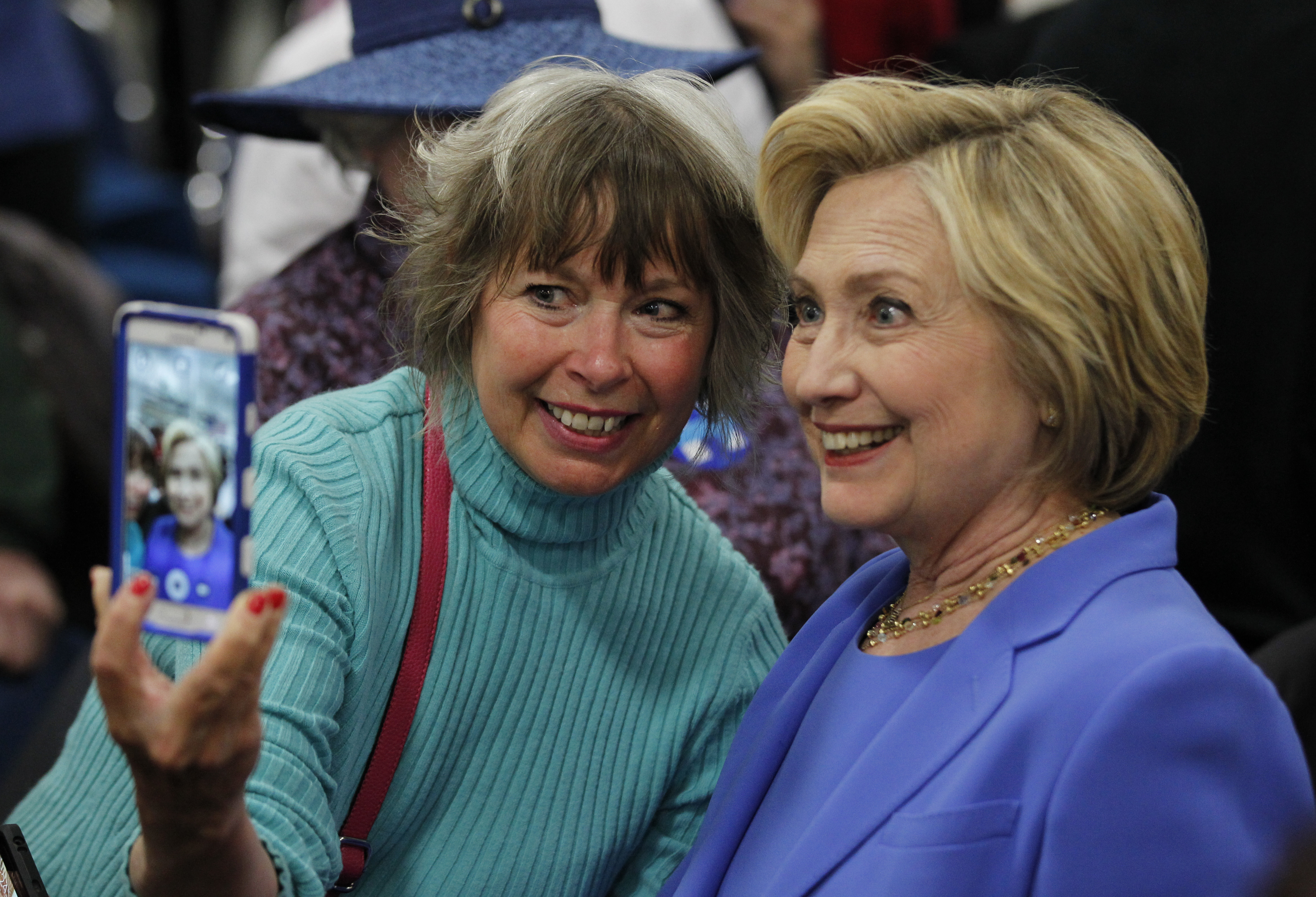 Democratic Presidential Candidate Hillary Clinton Campaigns In Louisville, Kentucky